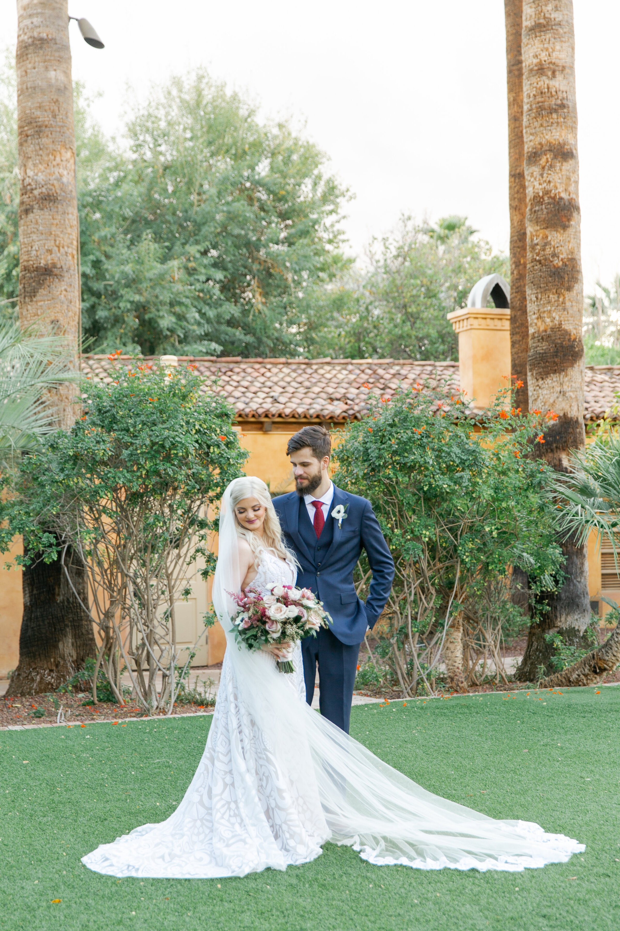 Karlie Colleen Photography - The Royal Palms Wedding - Some Like It Classic - Alex & Sam-484