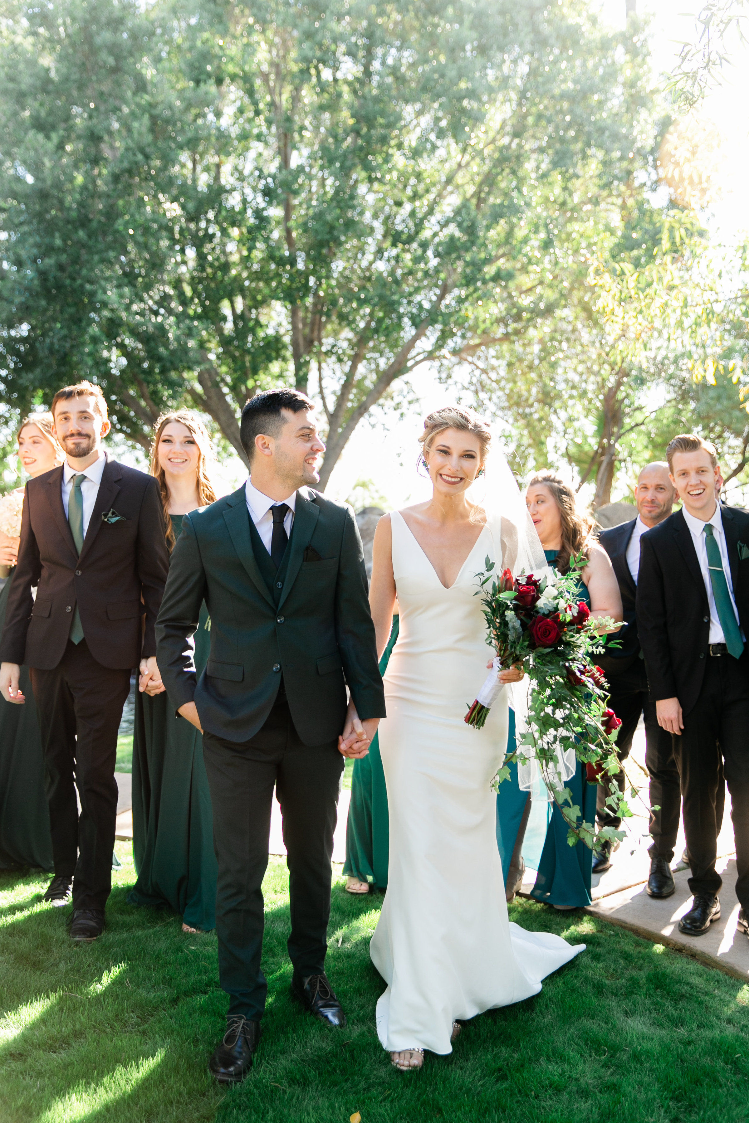 Karlie Colleen Photography - Gilbert Arizona Wedding - Val Vista Lakes - Brynne & Josh-199