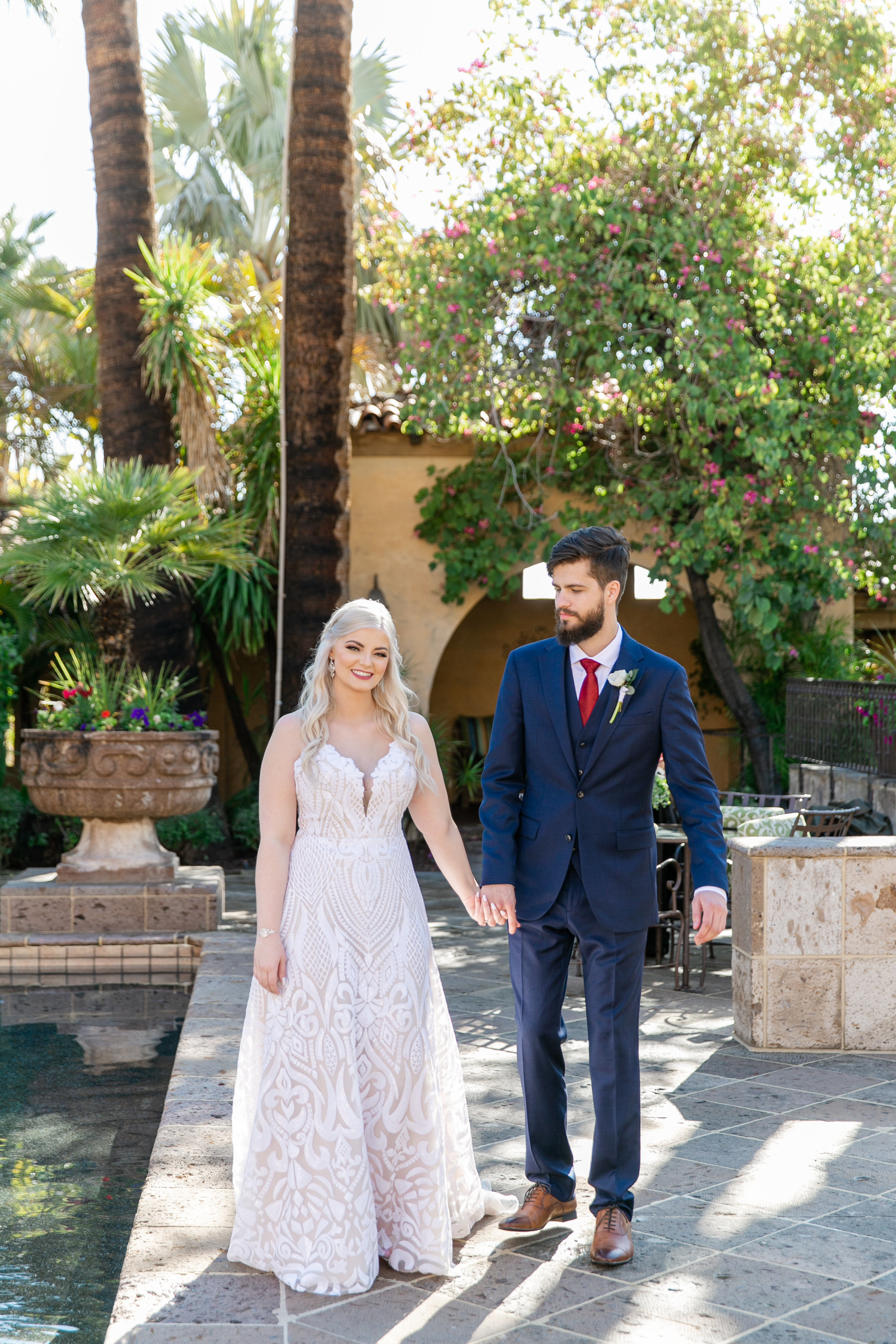 Karlie Colleen Photography - The Royal Palms Wedding - Some Like It Classic - Alex & Sam-130