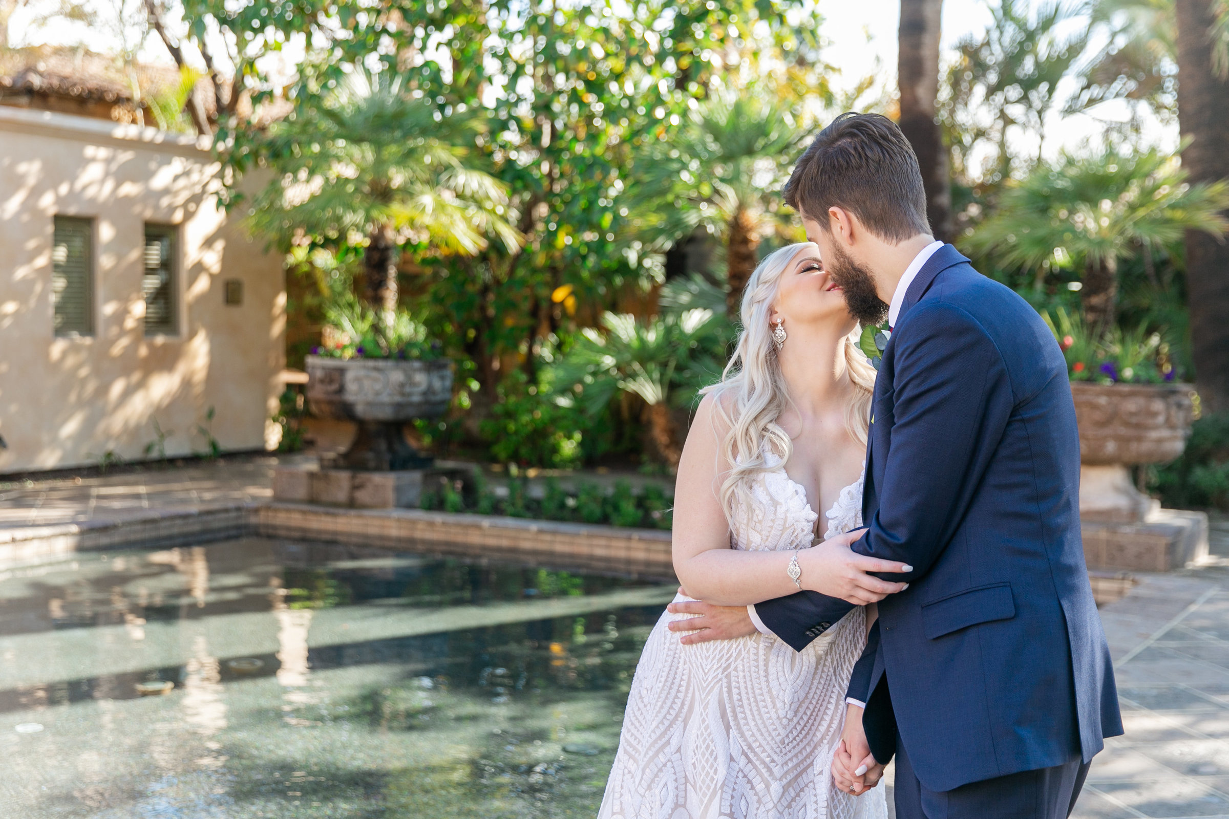 Karlie Colleen Photography - The Royal Palms Wedding - Some Like It Classic - Alex & Sam-143