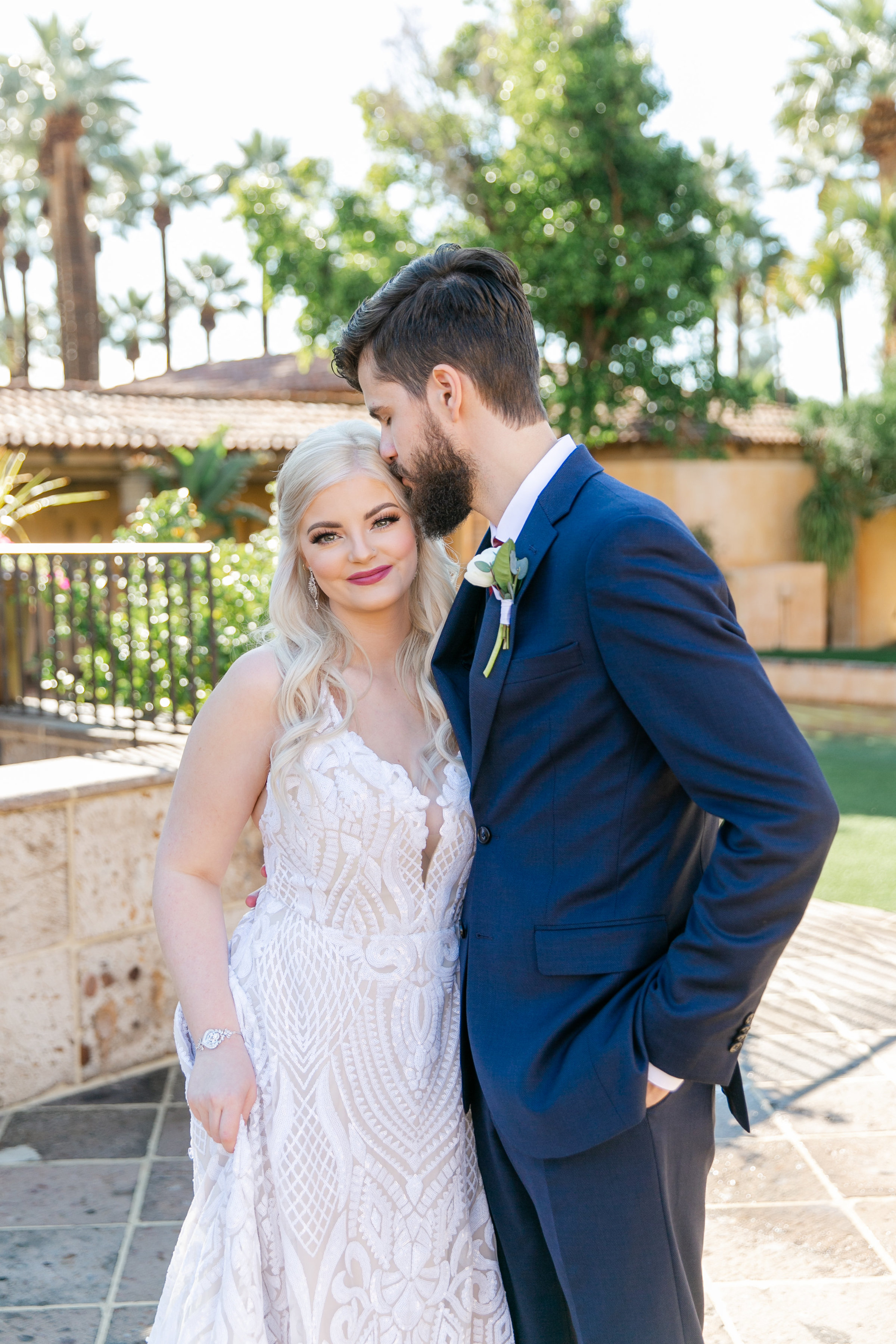 Karlie Colleen Photography - The Royal Palms Wedding - Some Like It Classic - Alex & Sam-125
