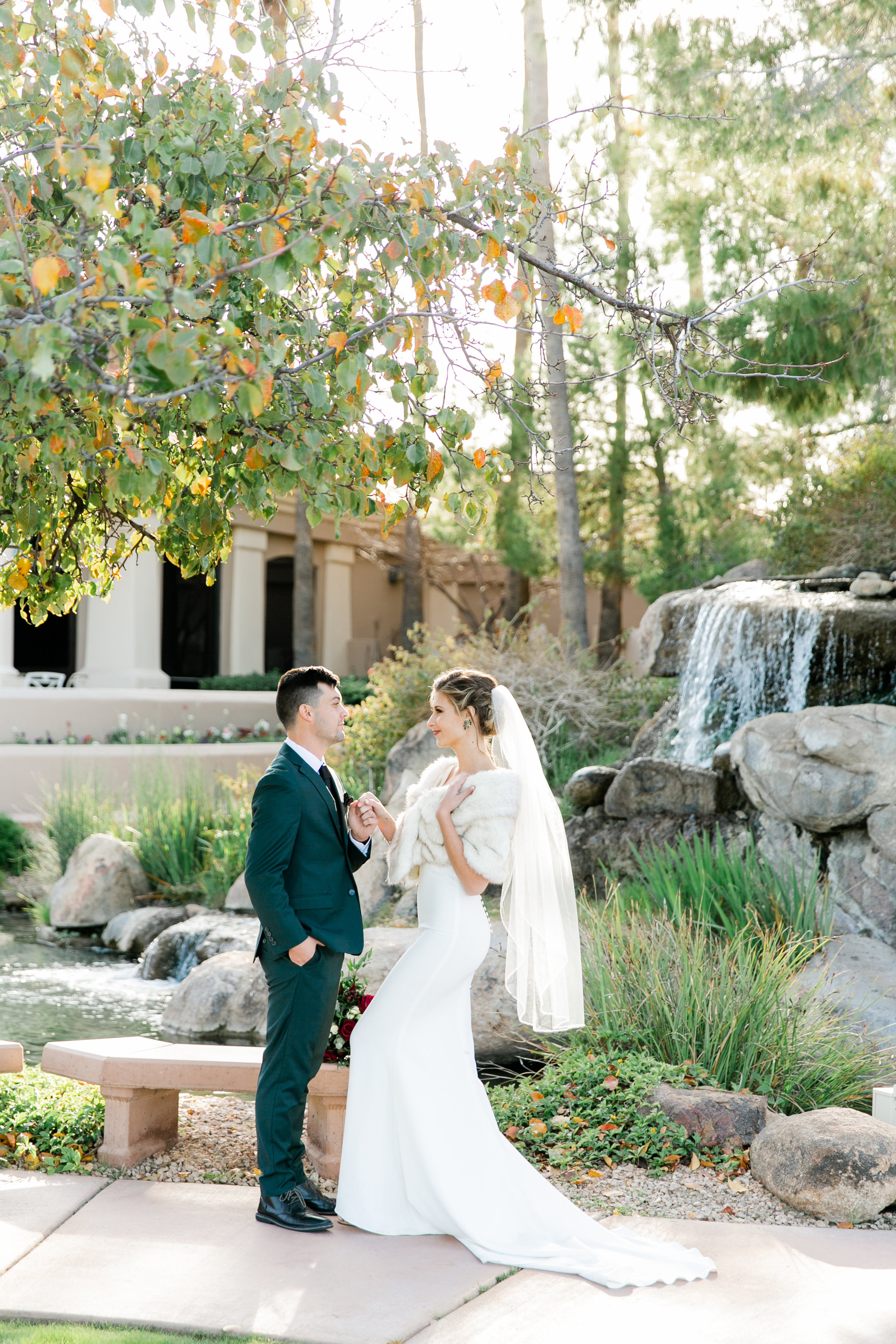 Karlie Colleen Photography - Gilbert Arizona Wedding - Val Vista Lakes - Brynne & Josh-474