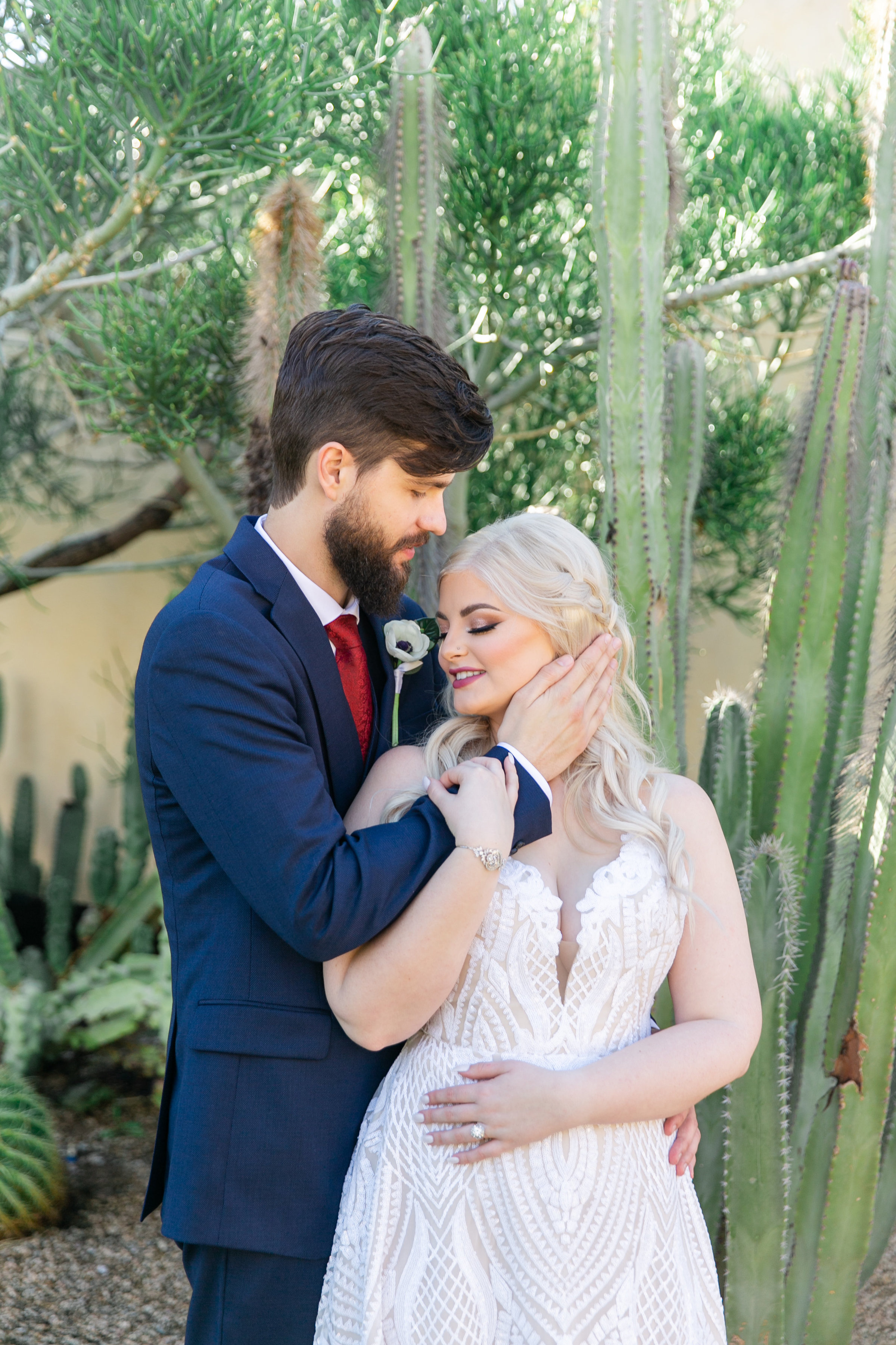 Karlie Colleen Photography - The Royal Palms Wedding - Some Like It Classic - Alex & Sam-163