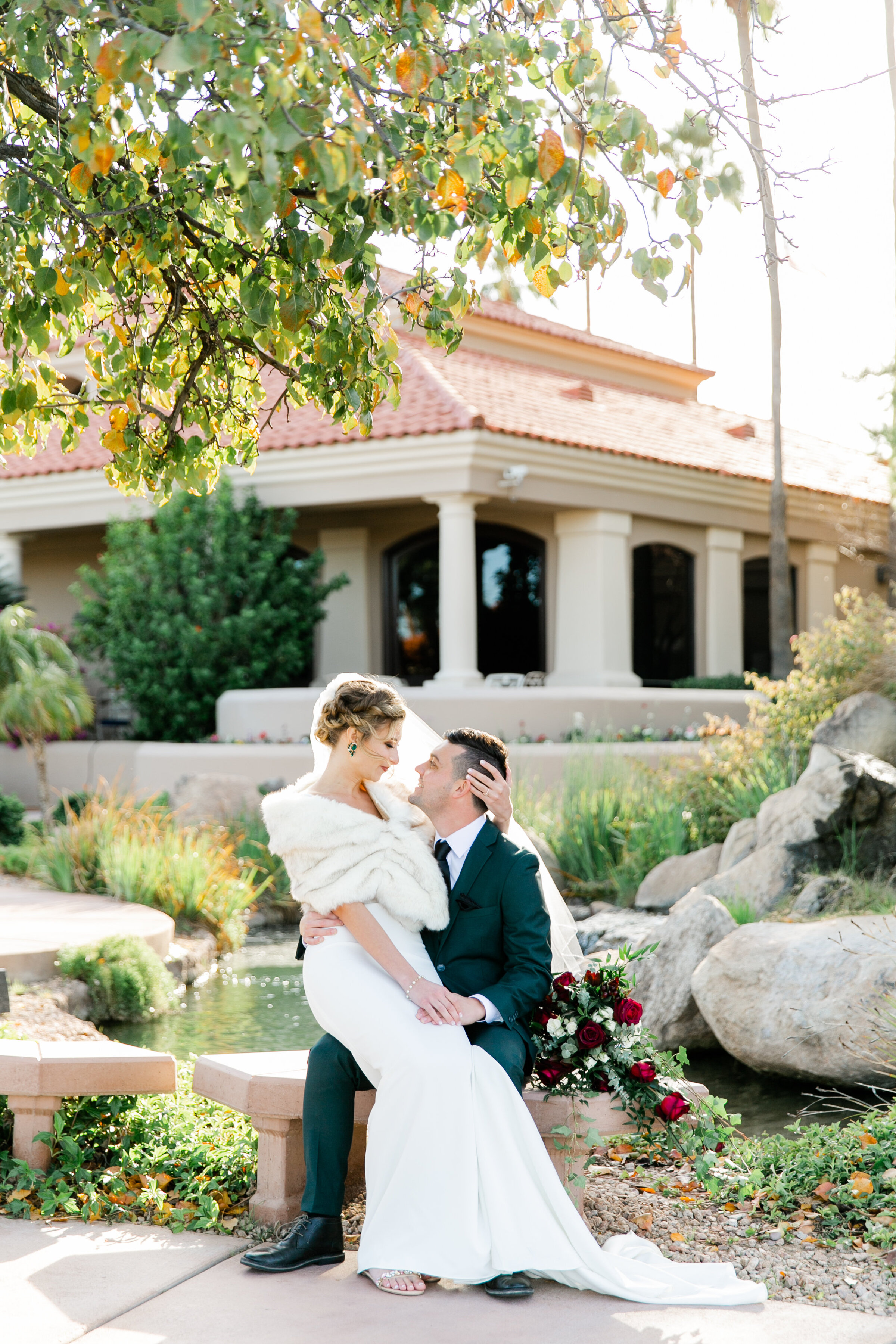 Karlie Colleen Photography - Gilbert Arizona Wedding - Val Vista Lakes - Brynne & Josh-455