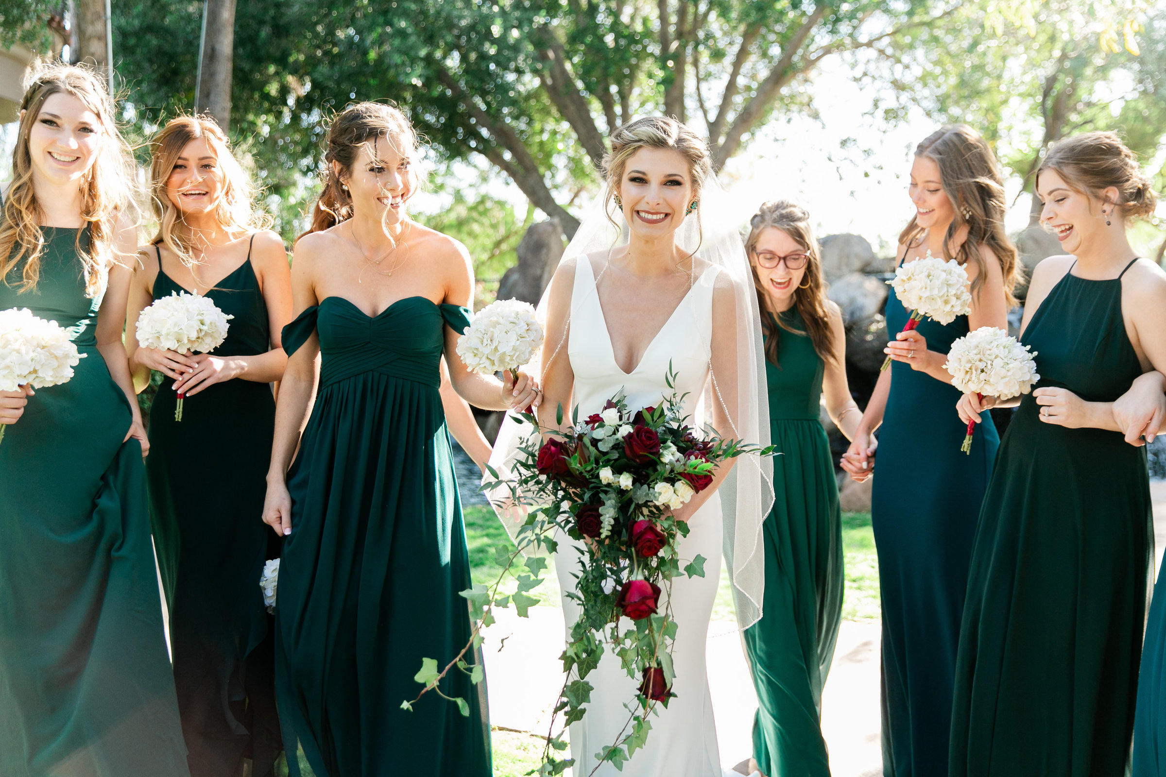 Karlie Colleen Photography - Gilbert Arizona Wedding - Val Vista Lakes - Brynne & Josh-253