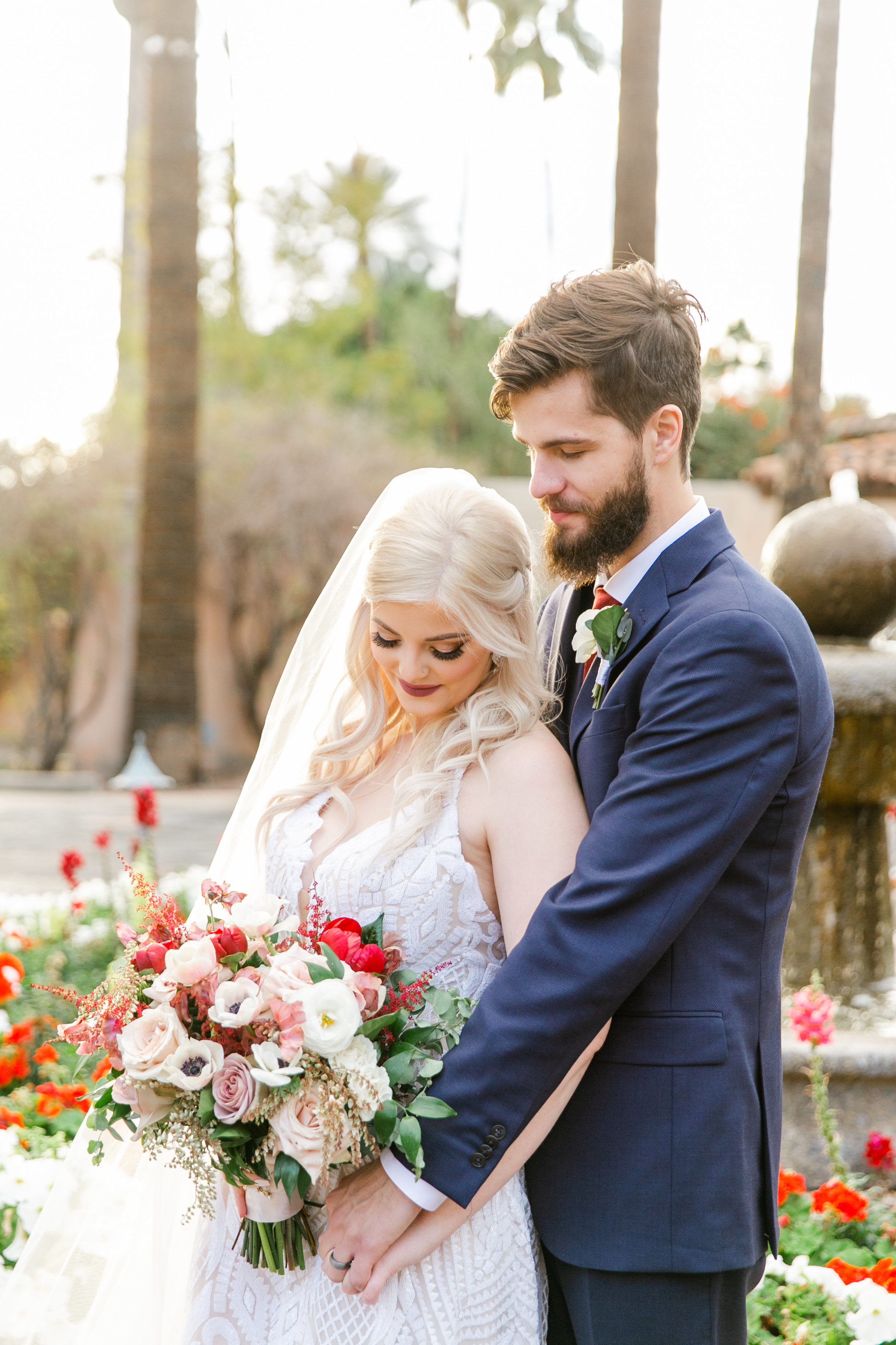 Karlie Colleen Photography - The Royal Palms Wedding - Some Like It Classic - Alex & Sam-542