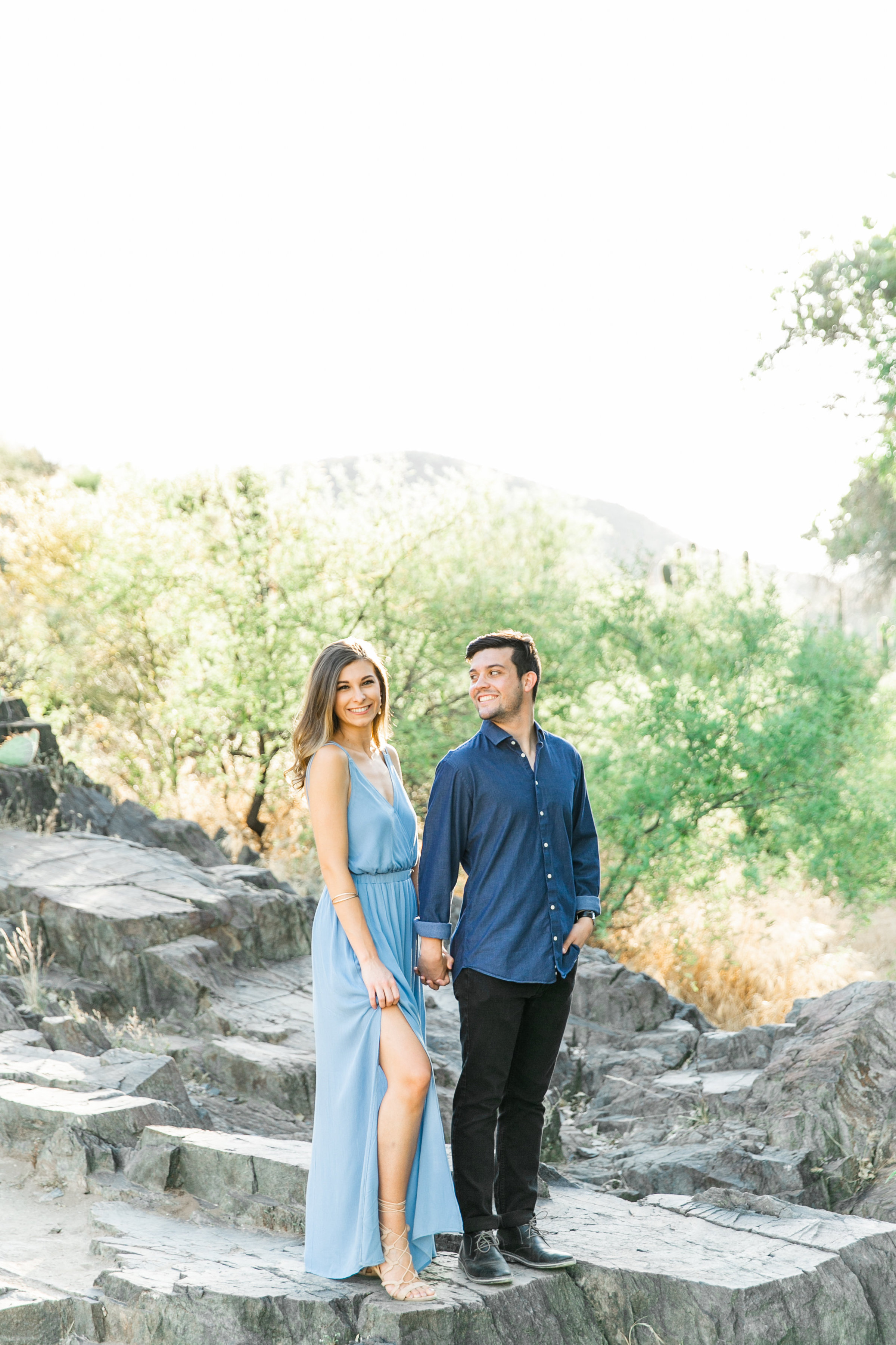 Karlie Colleen Photography - Arizona Desert Engagement - Brynne & Josh -13
