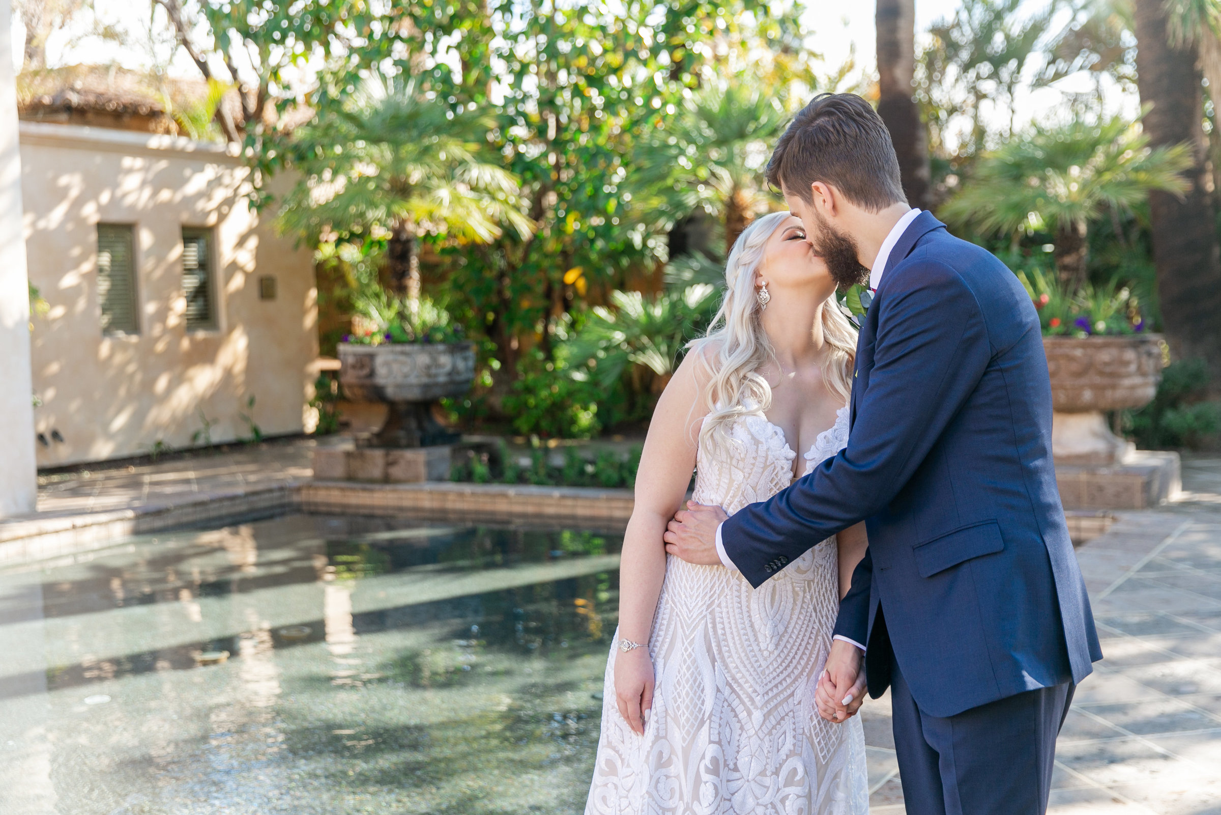 Karlie Colleen Photography - The Royal Palms Wedding - Some Like It Classic - Alex & Sam-142