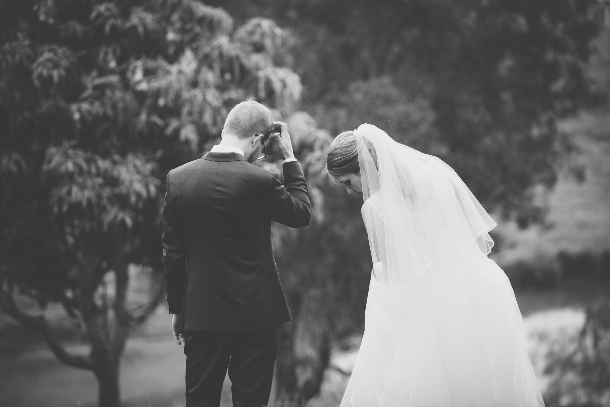 Black and White Wedding Photography Brisbane Anna Osetroff