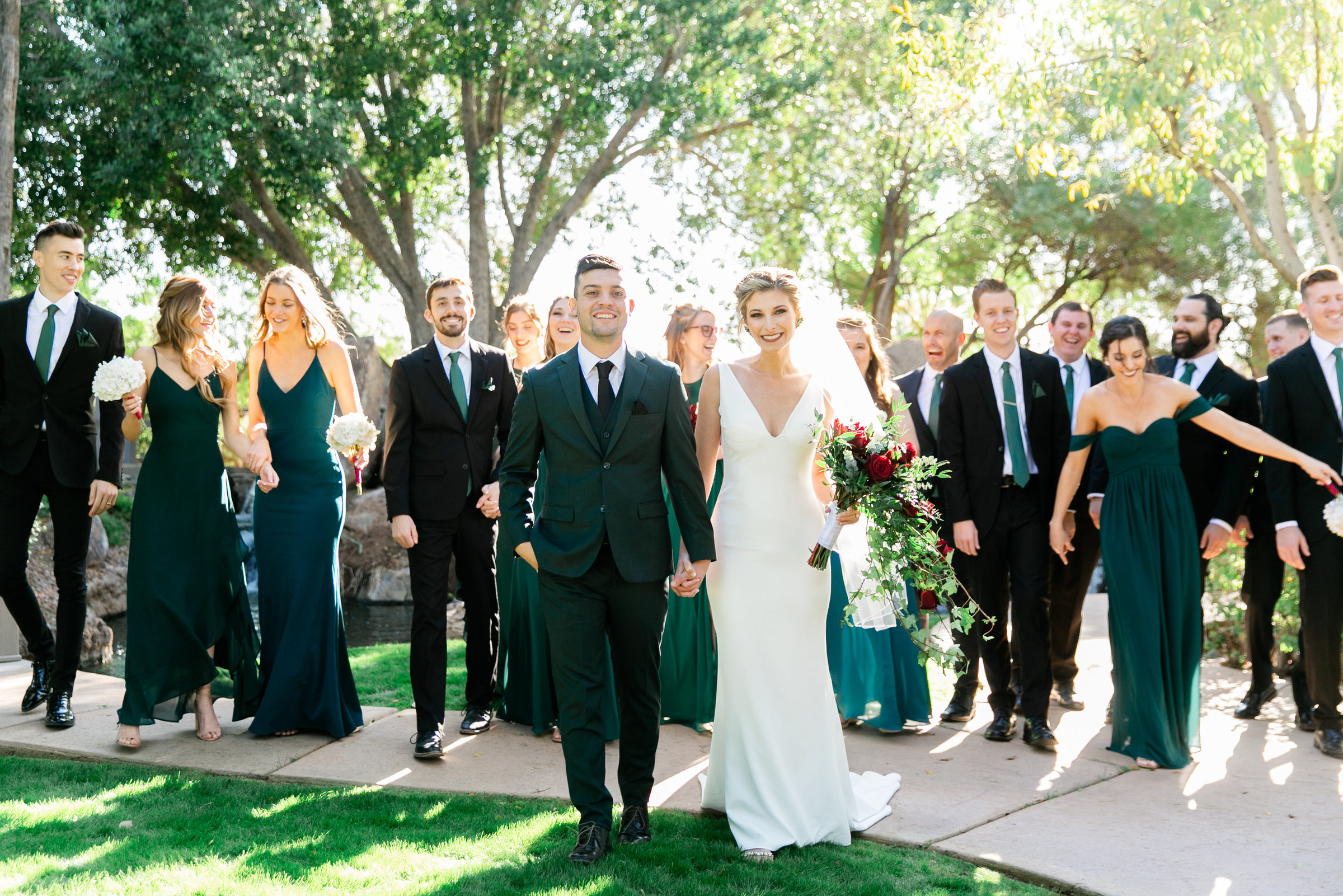 Karlie Colleen Photography - Gilbert Arizona Wedding - Val Vista Lakes - Brynne & Josh-193