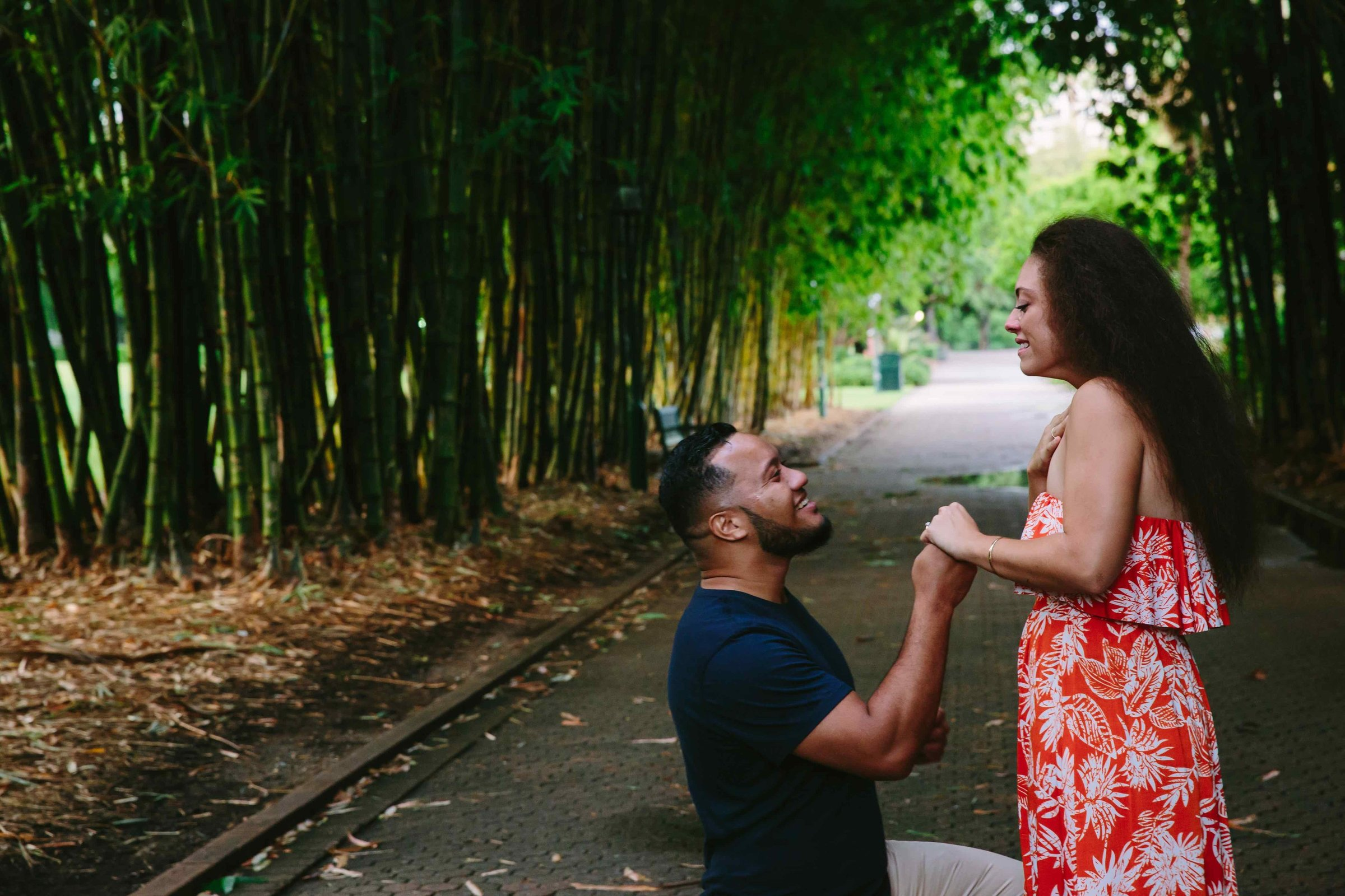 Eagle Street Proposal Photographer Anna Osetroff