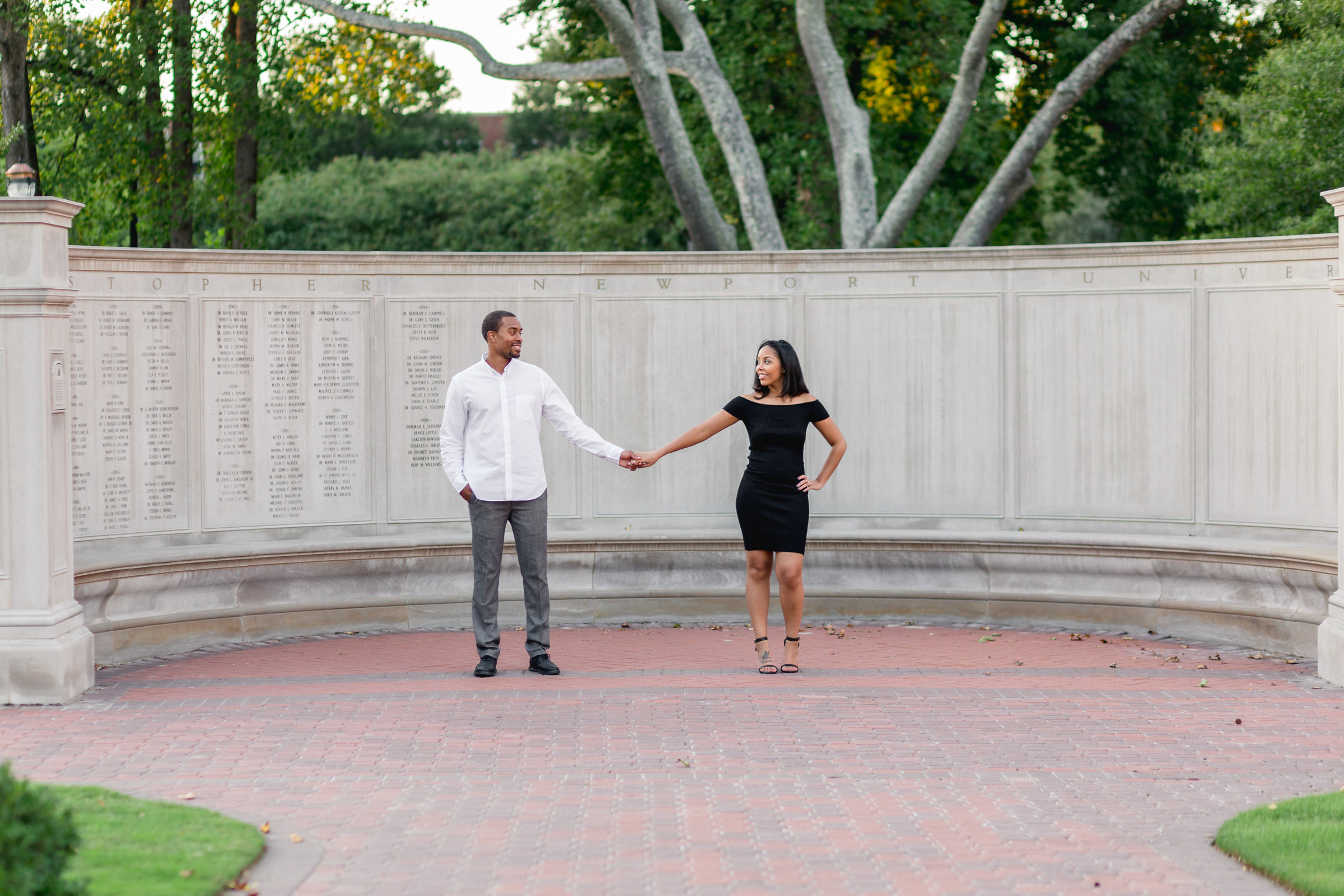 christopher newport university engagement session newport news va-8