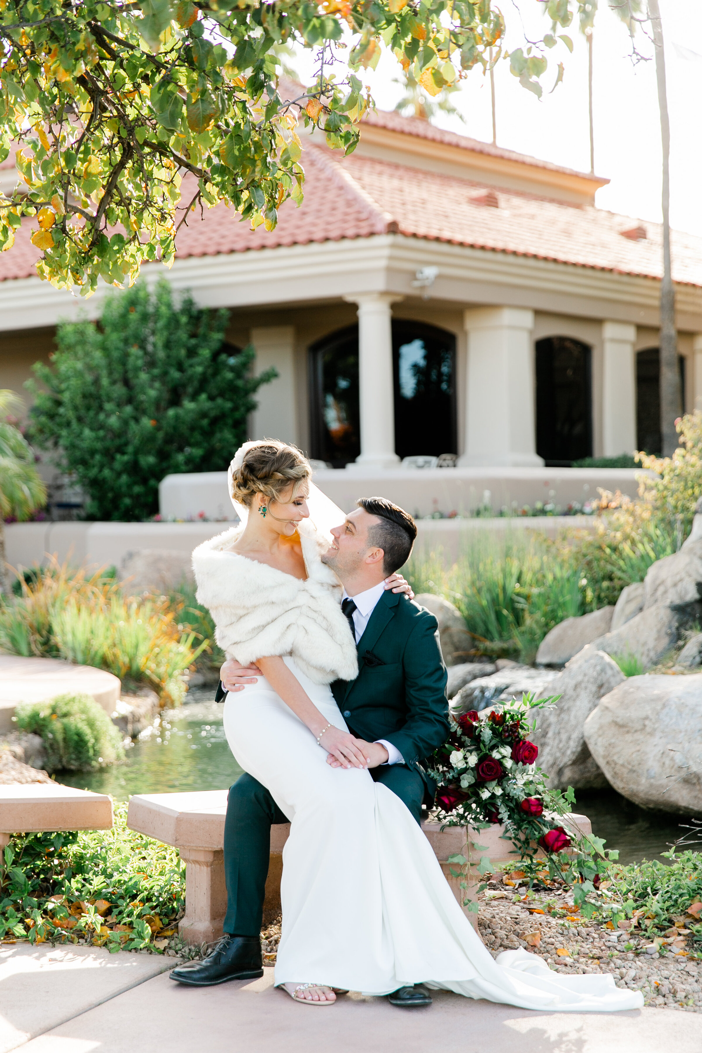 Karlie Colleen Photography - Gilbert Arizona Wedding - Val Vista Lakes - Brynne & Josh-446