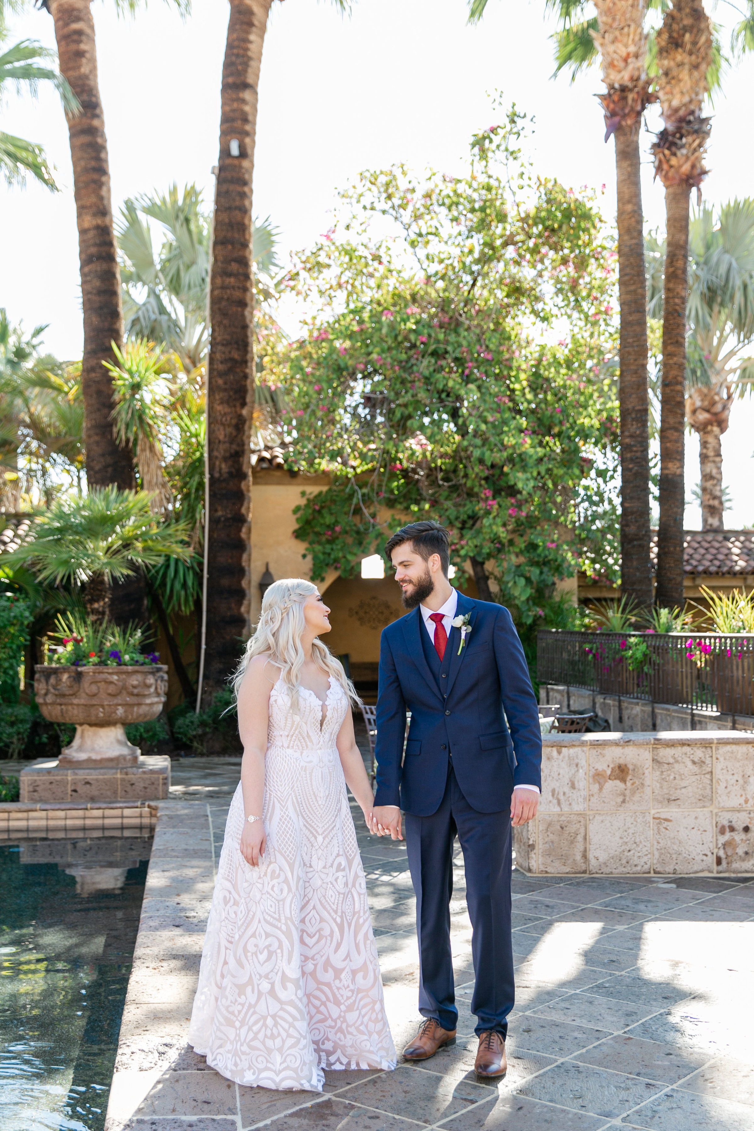 Karlie Colleen Photography - The Royal Palms Wedding - Some Like It Classic - Alex & Sam-136