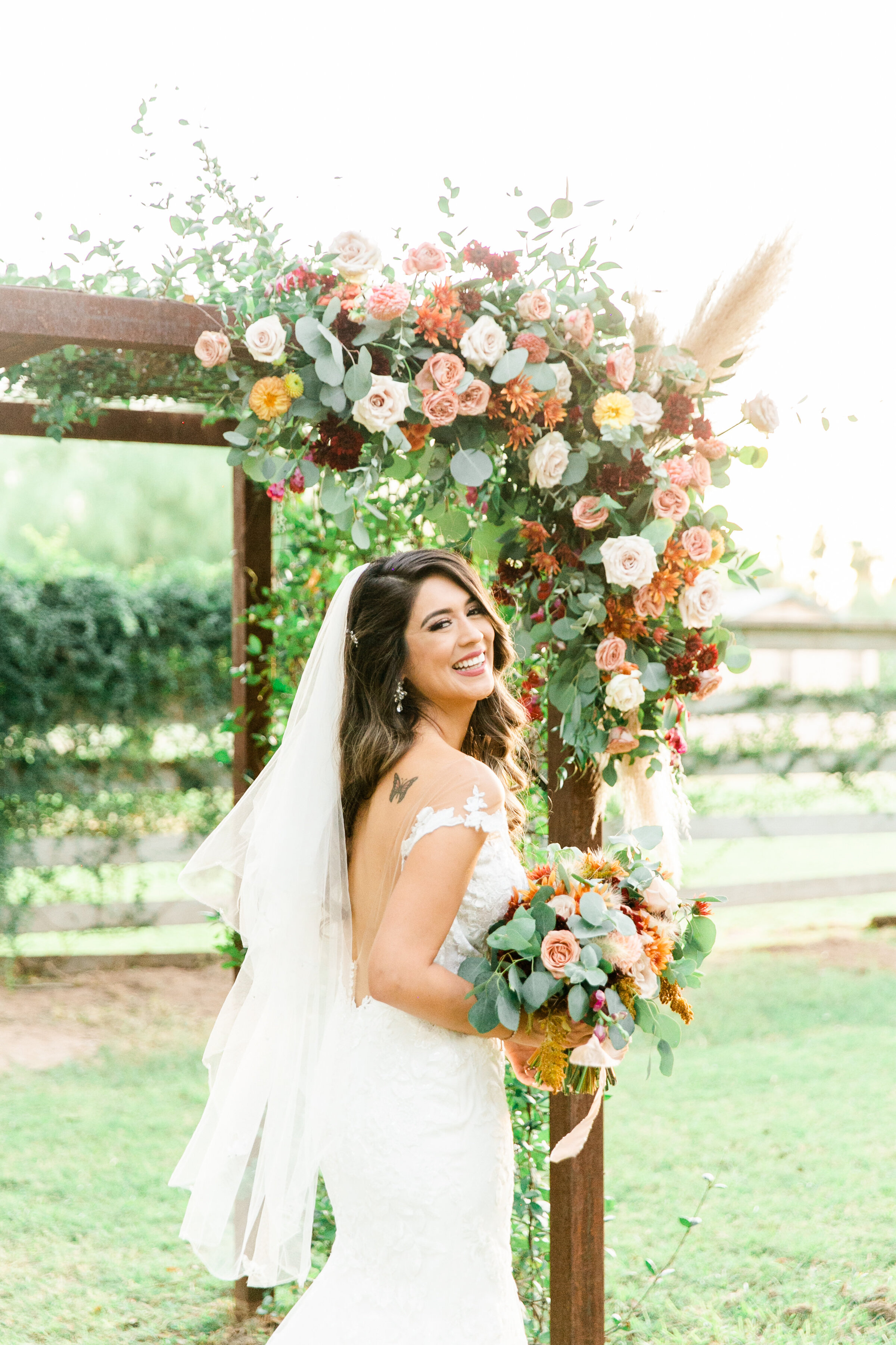 Karlie Colleen Photography - Phoenix Arizona - Farm At South Mountain Venue - Vanessa & Robert-679