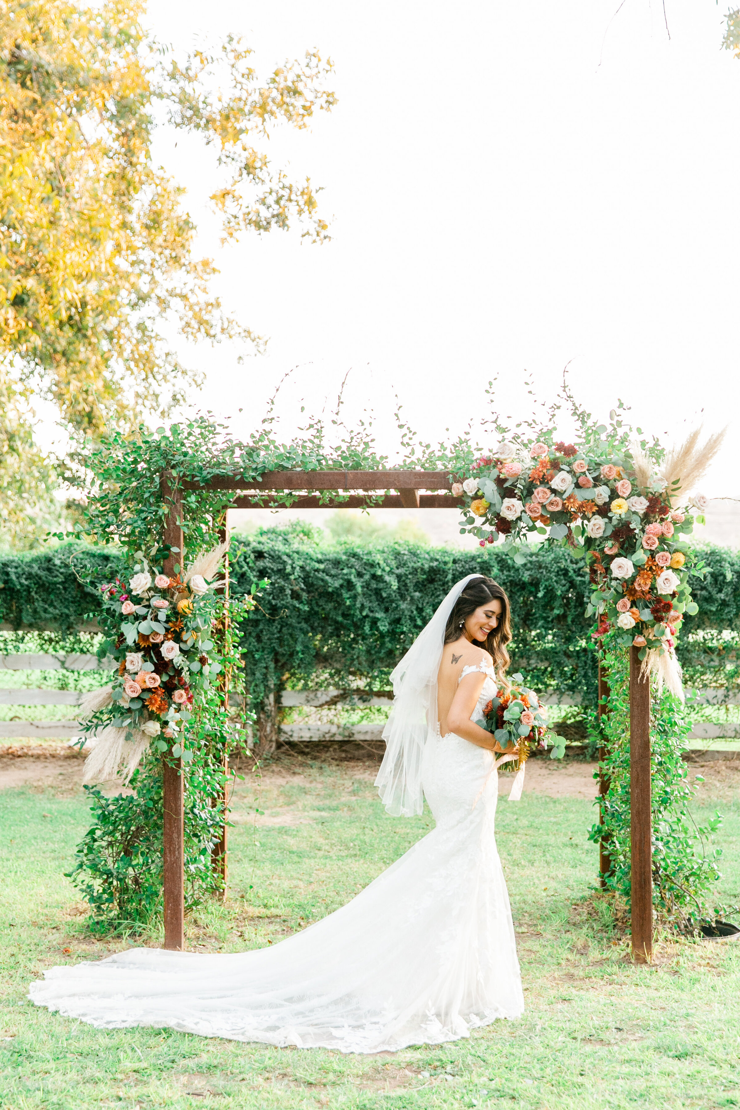 Karlie Colleen Photography - Phoenix Arizona - Farm At South Mountain Venue - Vanessa & Robert-660