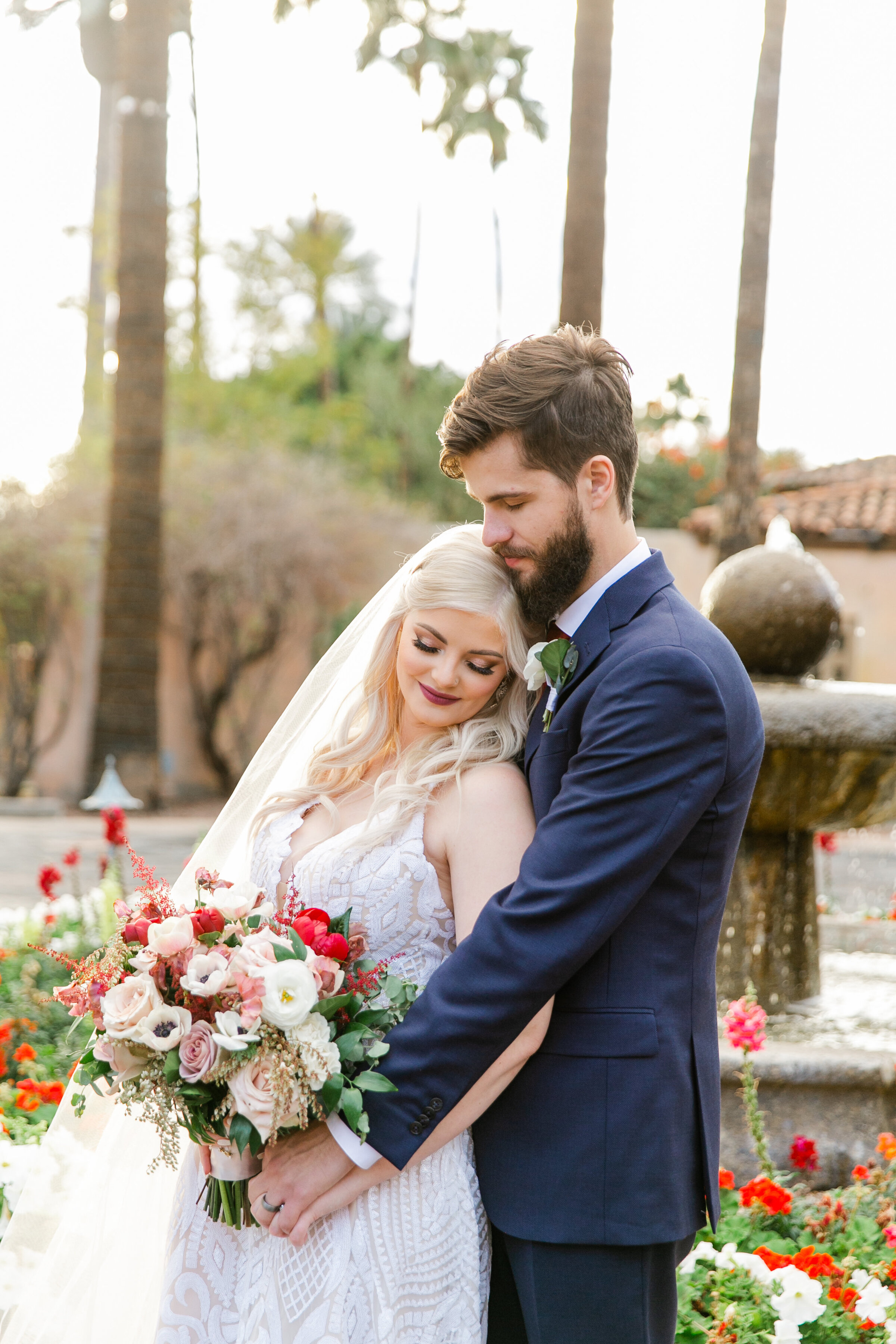 Karlie Colleen Photography - The Royal Palms Wedding - Some Like It Classic - Alex & Sam-545