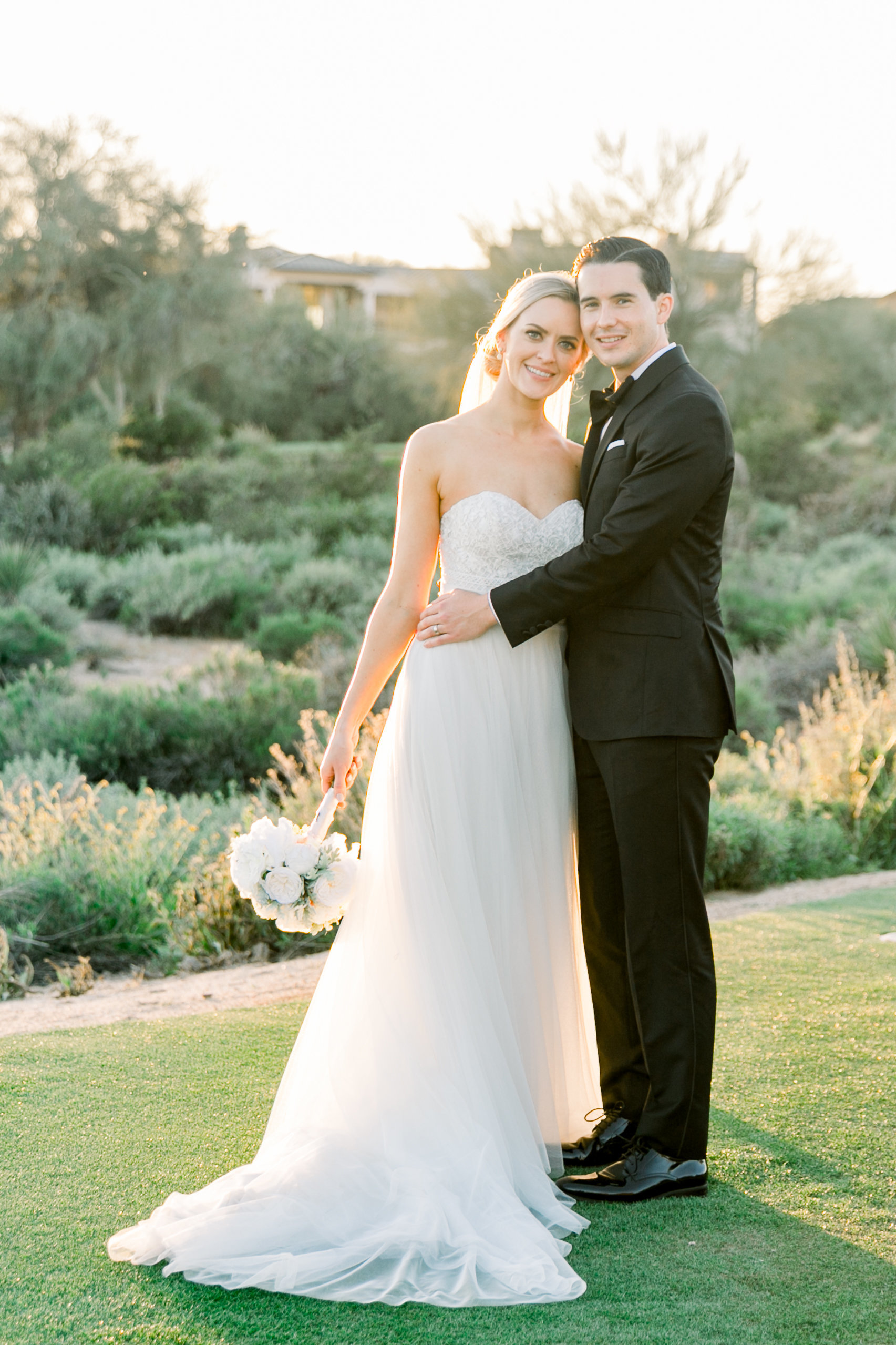 Karlie Colleen Photography - Arizona Wedding at The Troon Scottsdale Country Club - Paige & Shane -677