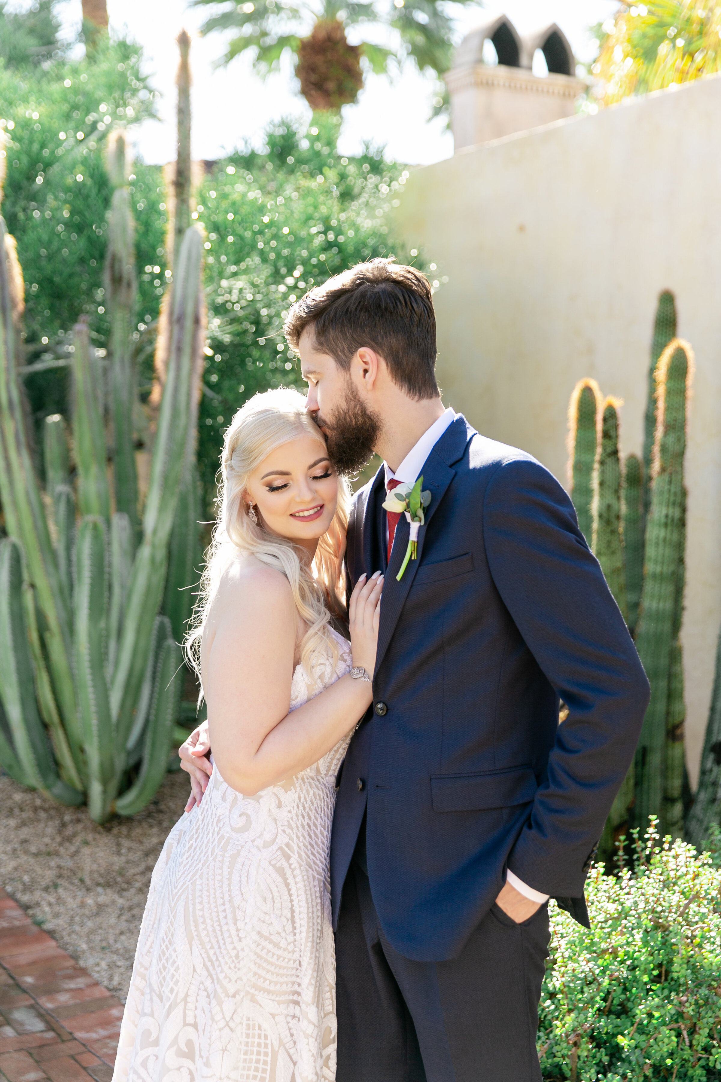 Karlie Colleen Photography - The Royal Palms Wedding - Some Like It Classic - Alex & Sam-154