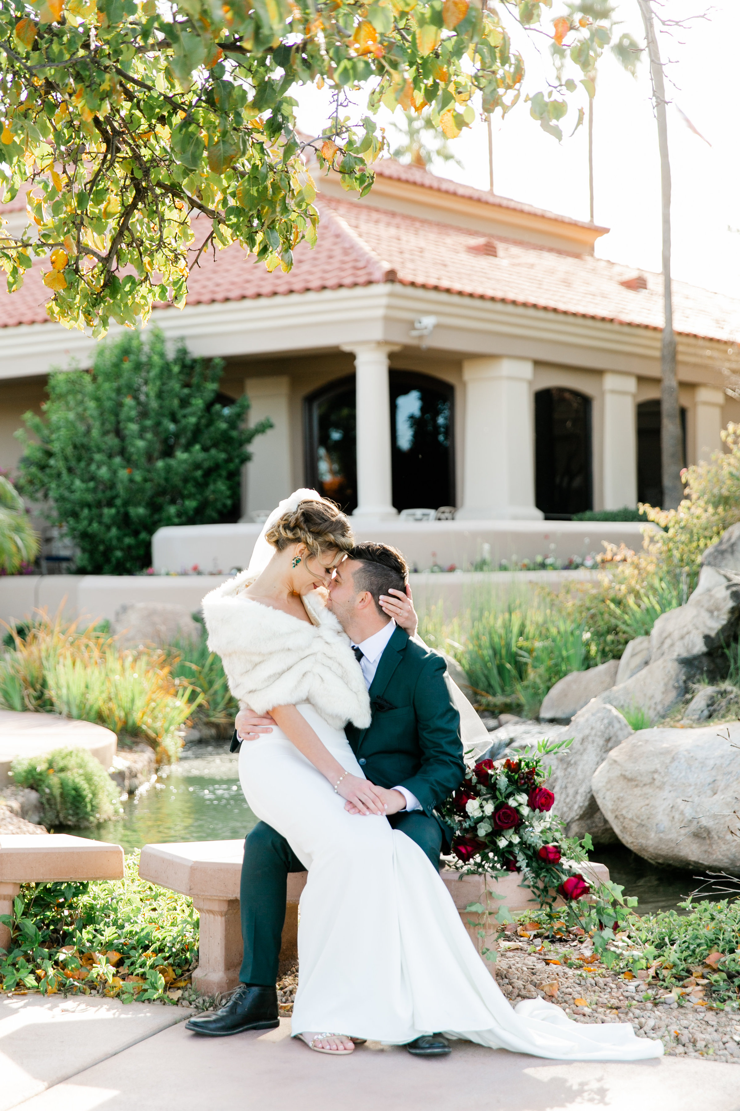 Karlie Colleen Photography - Gilbert Arizona Wedding - Val Vista Lakes - Brynne & Josh-448