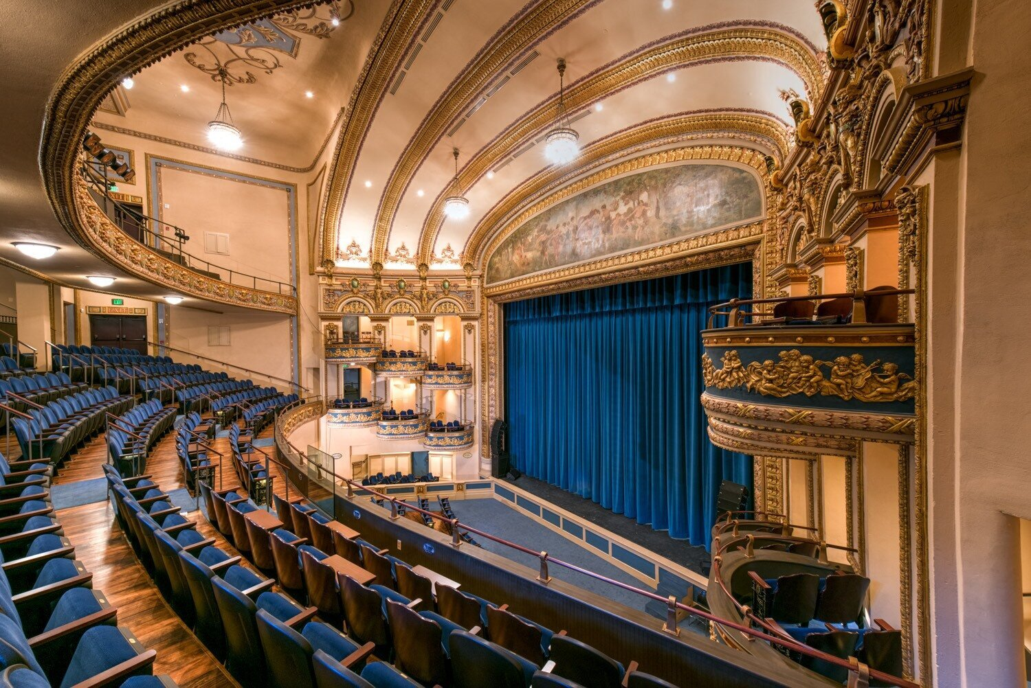 The Lyric Theater is a newly restored venue in downtown Birmingham