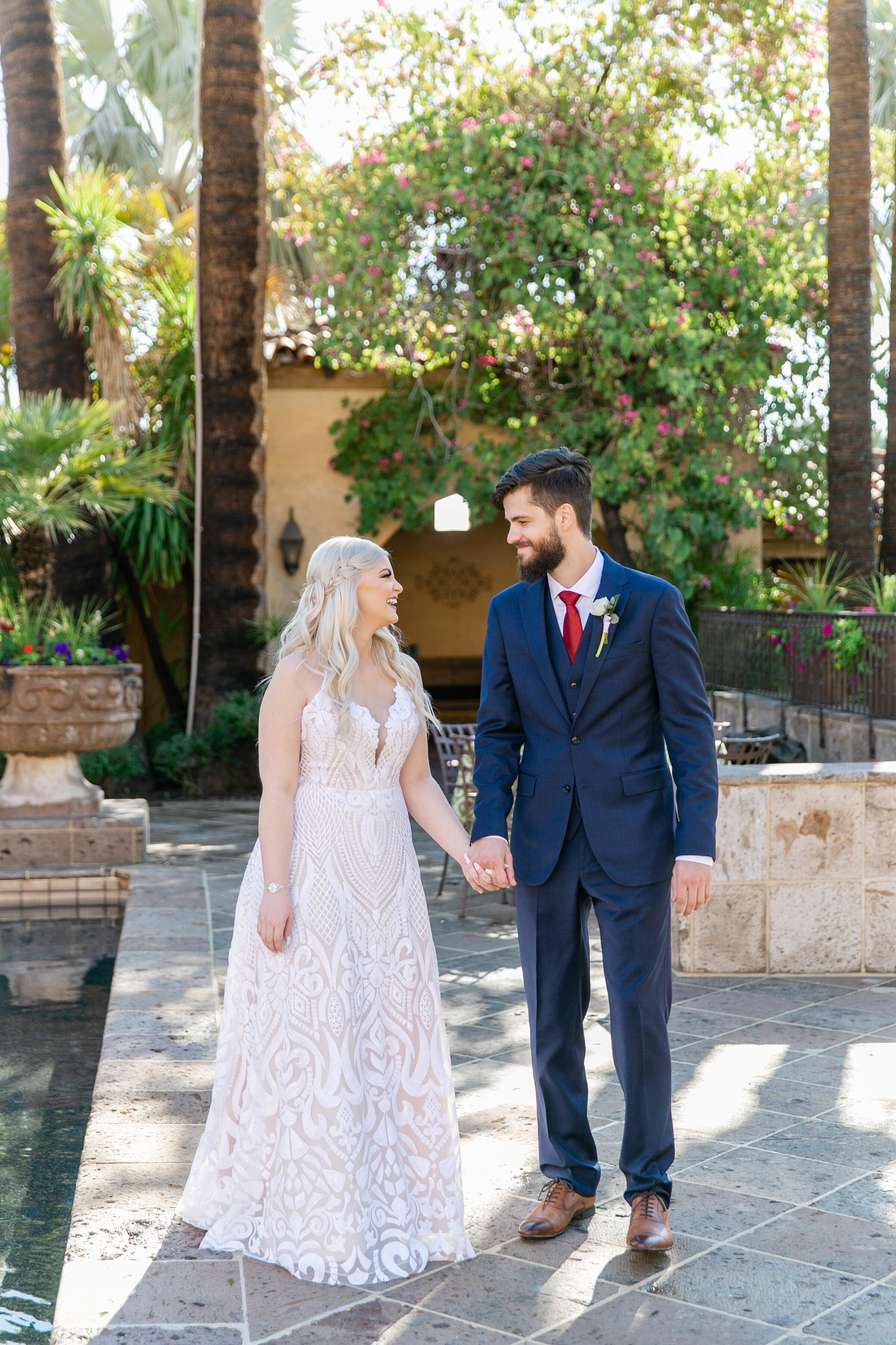Karlie Colleen Photography - The Royal Palms Wedding - Some Like It Classic - Alex & Sam-132