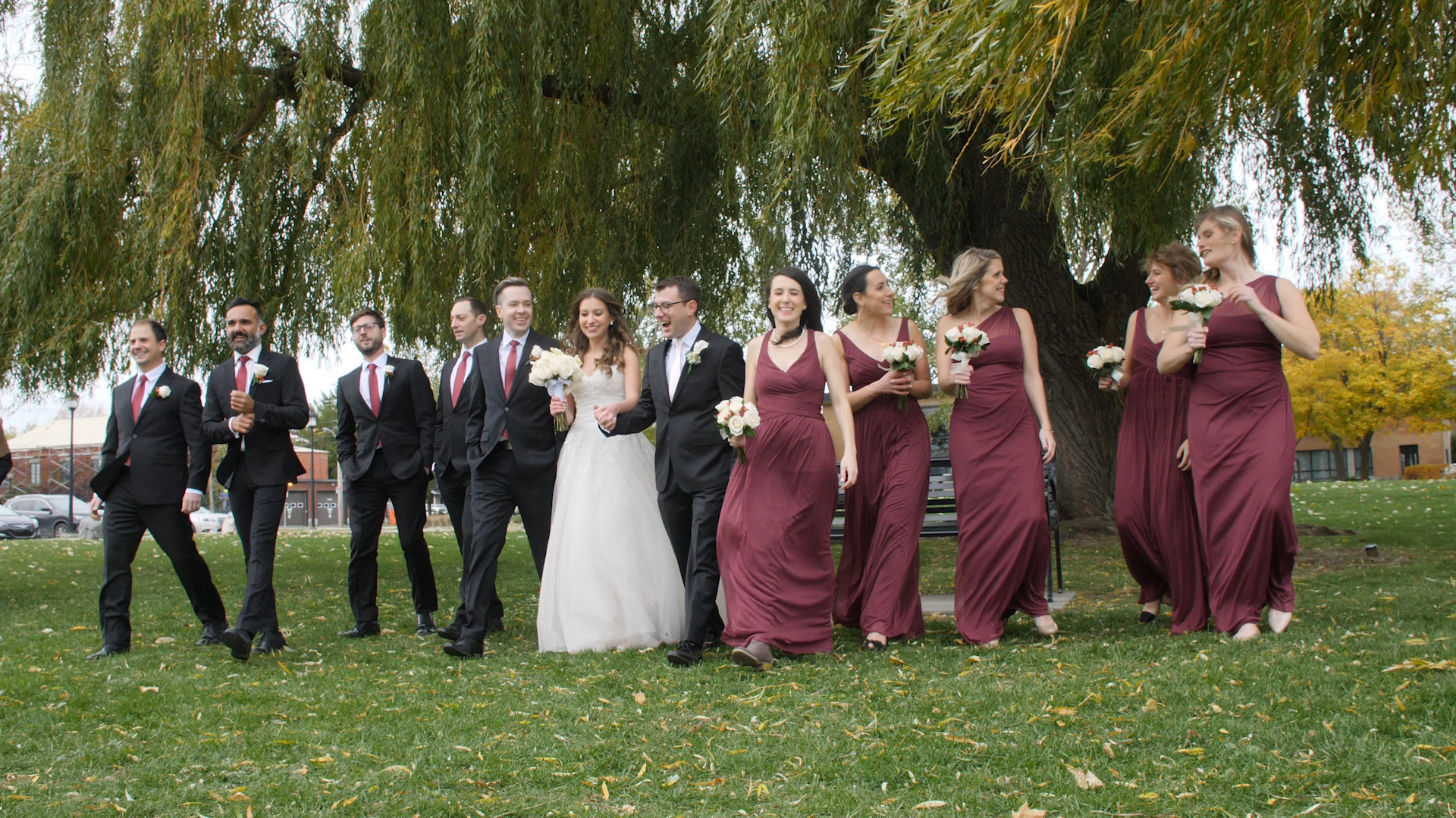 wedding photography - bridal party