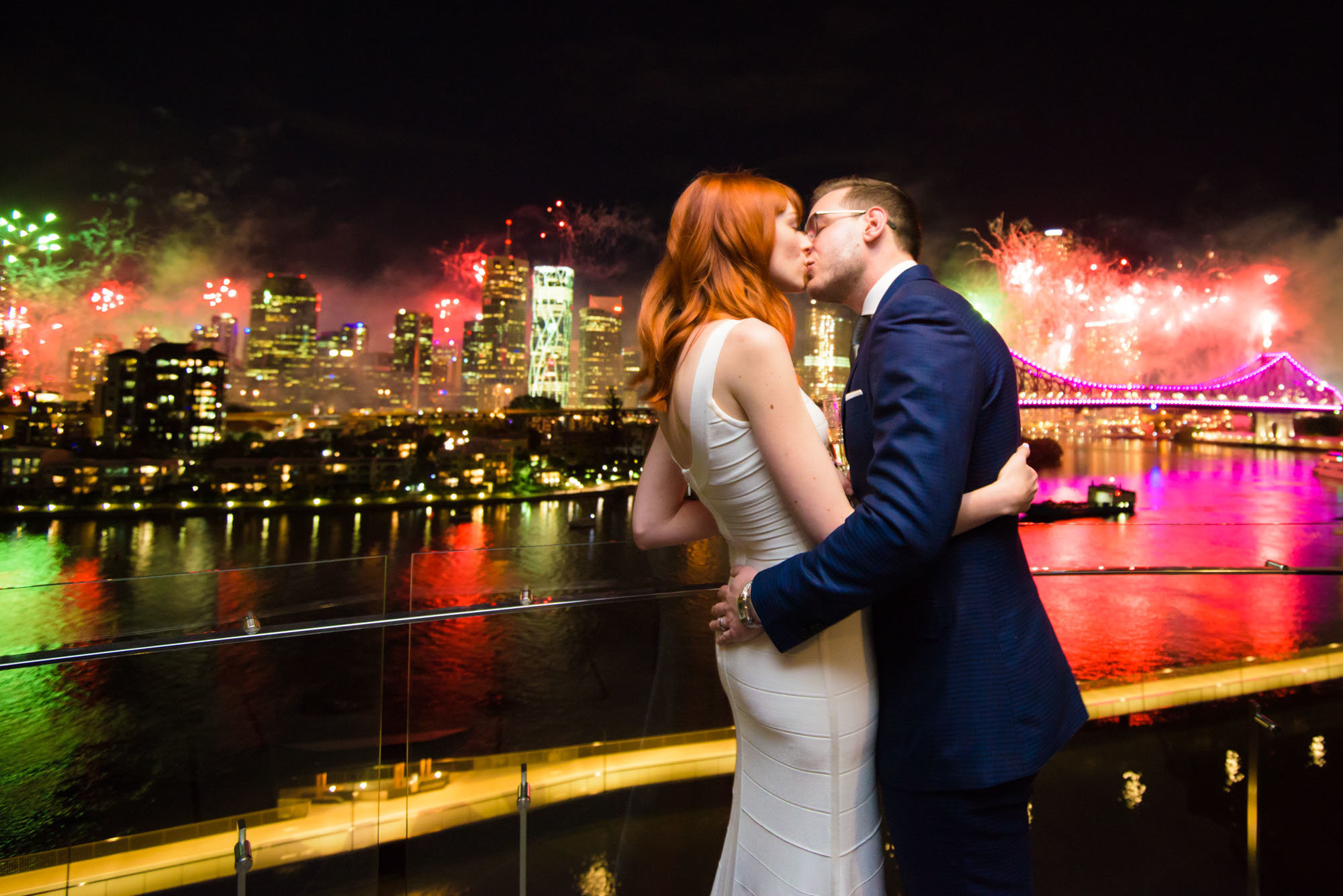 New Farm RiverFire Wedding Photography Anna Osetroff Brisbane