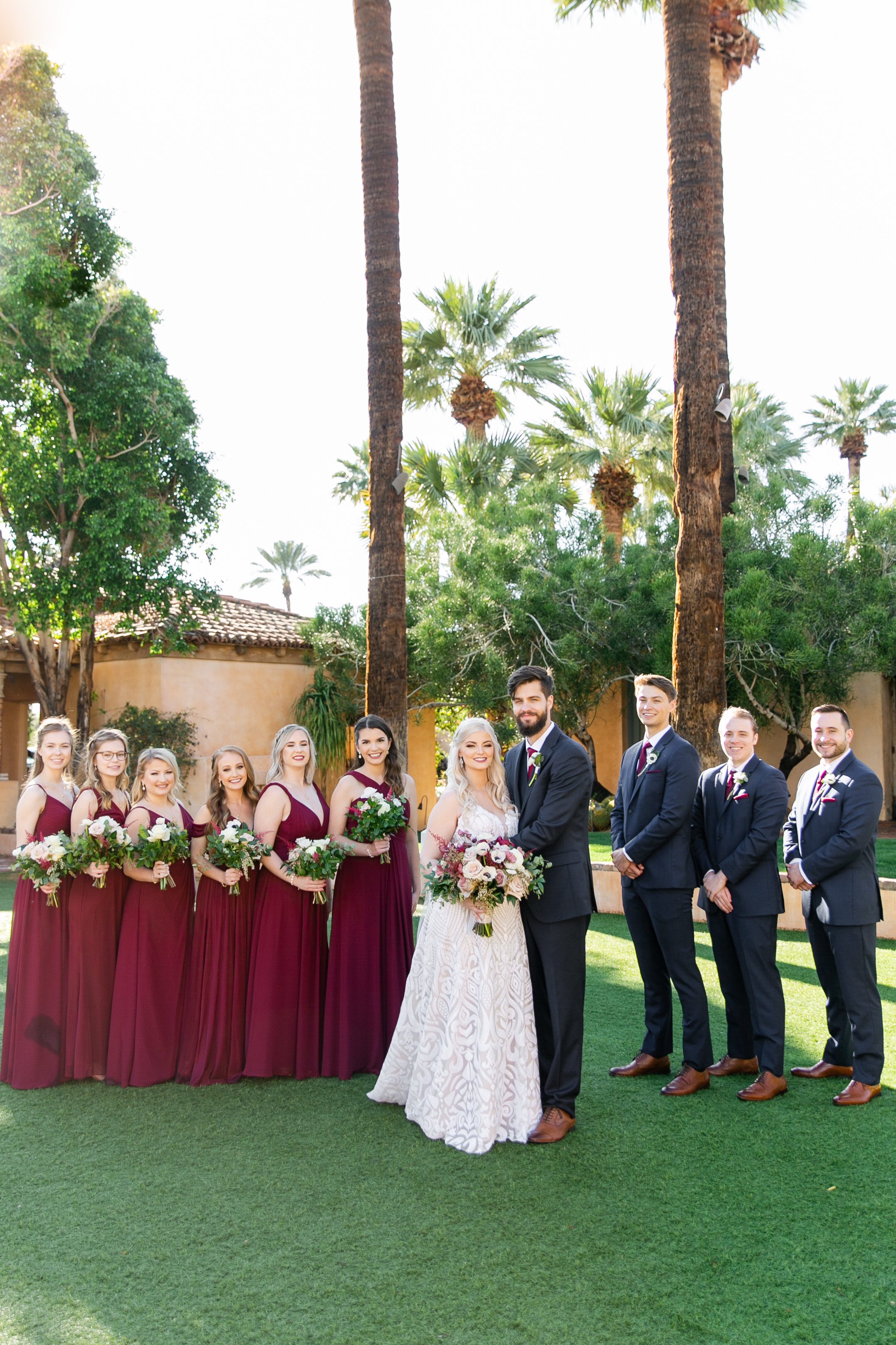 Karlie Colleen Photography - The Royal Palms Wedding - Some Like It Classic - Alex & Sam-260