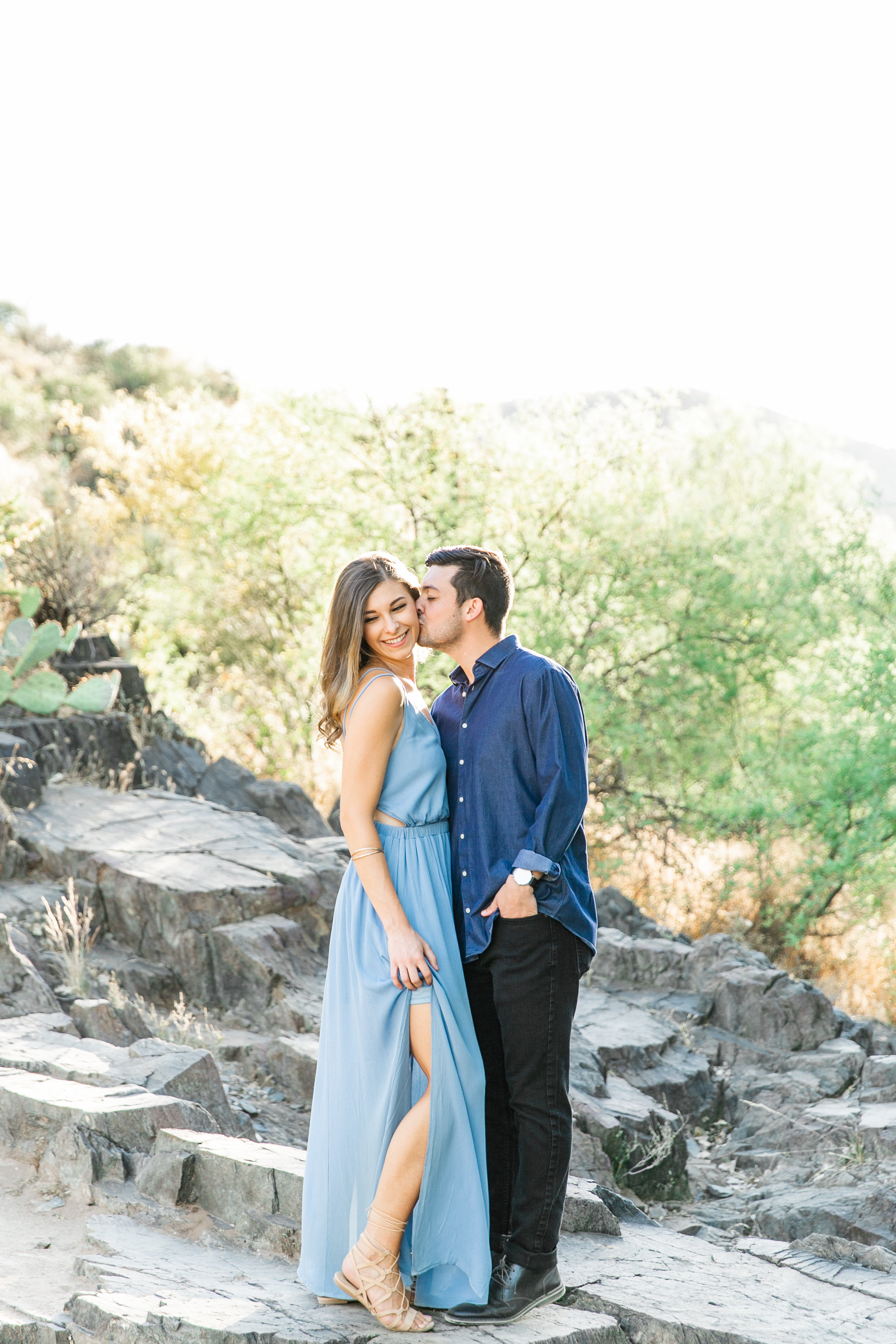 Karlie Colleen Photography - Arizona Desert Engagement - Brynne & Josh -6