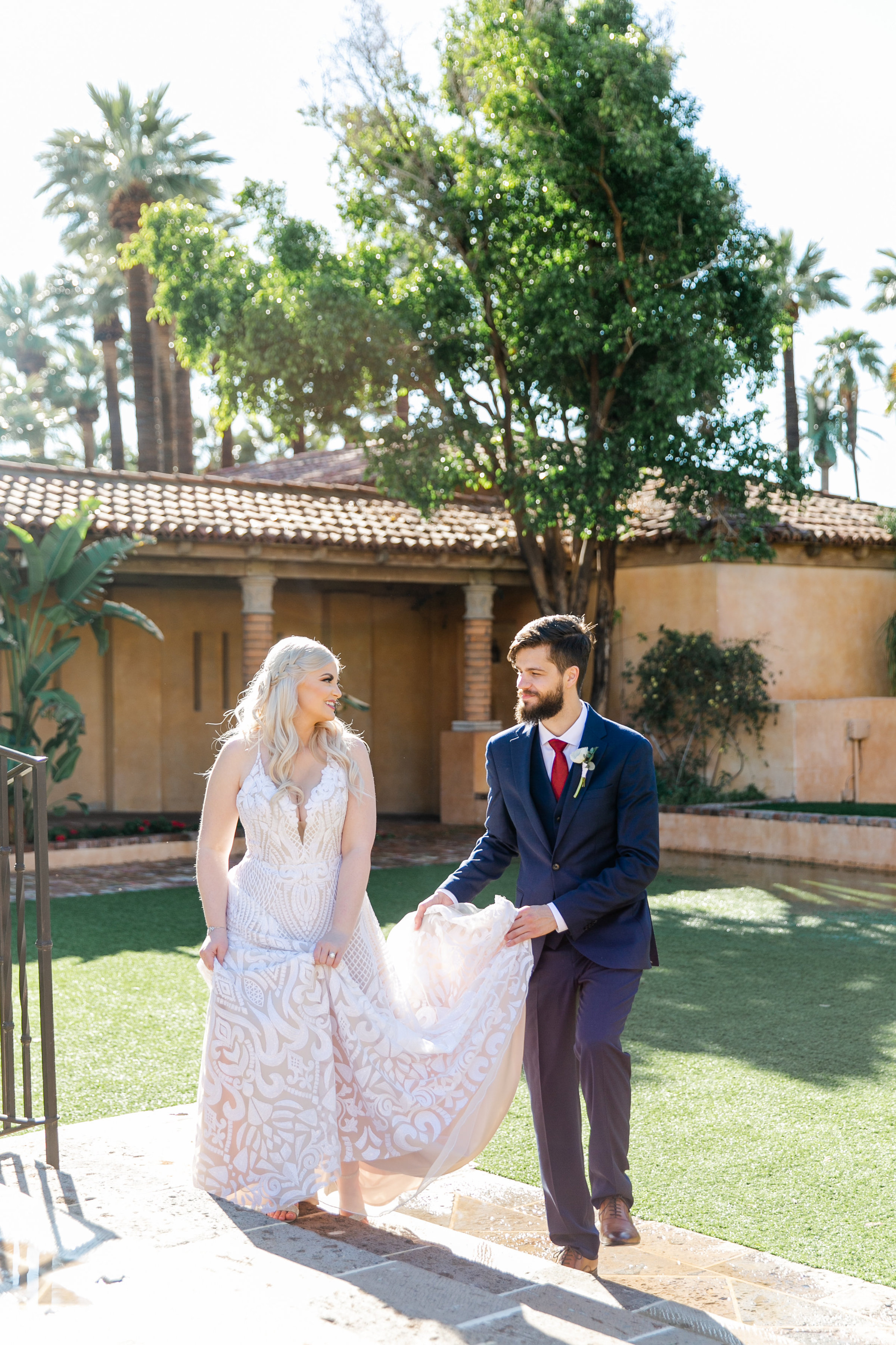 Karlie Colleen Photography - The Royal Palms Wedding - Some Like It Classic - Alex & Sam-172