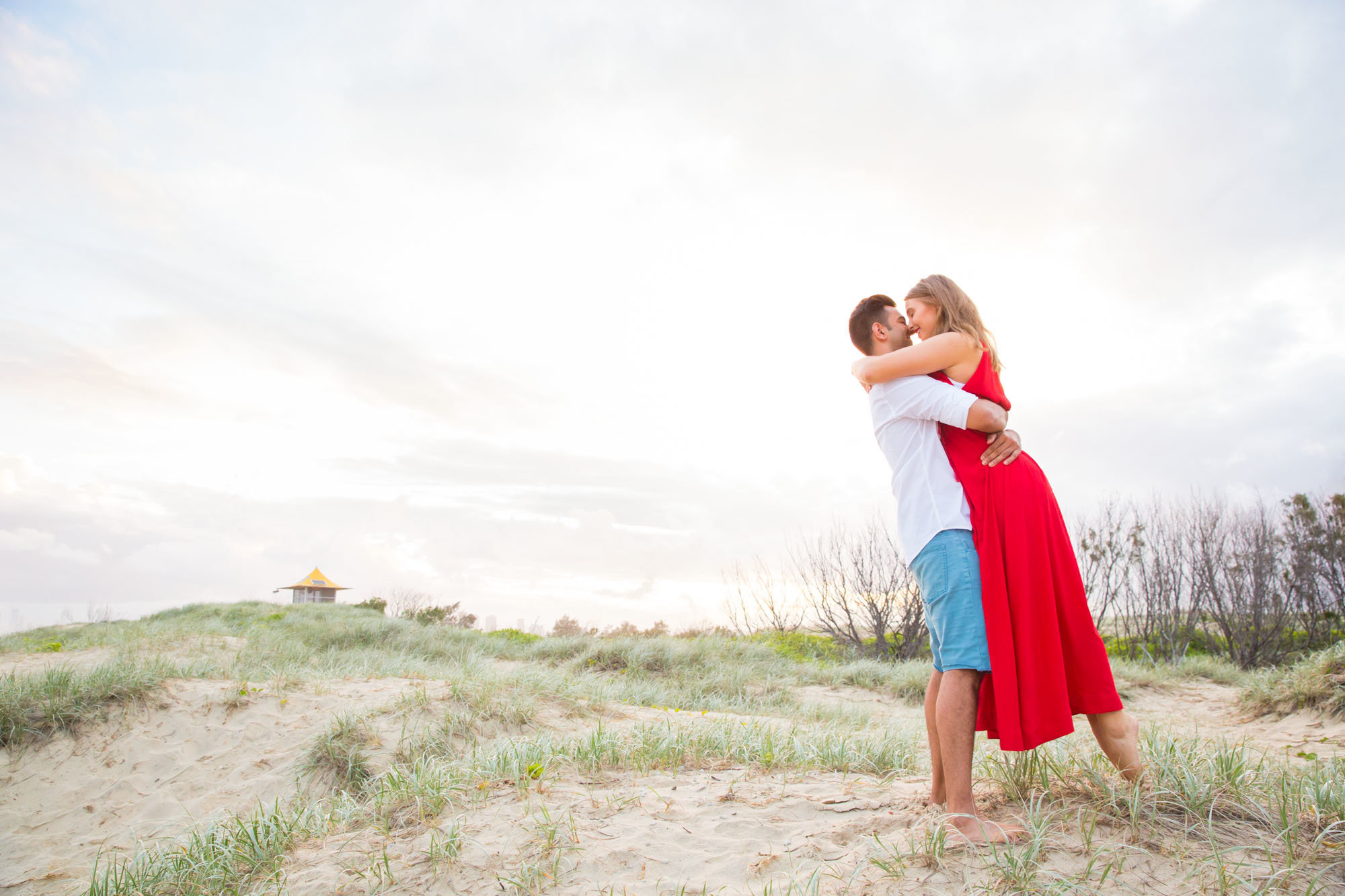 The Spit Gold Coast Proposal Photographer Anna Osetroff