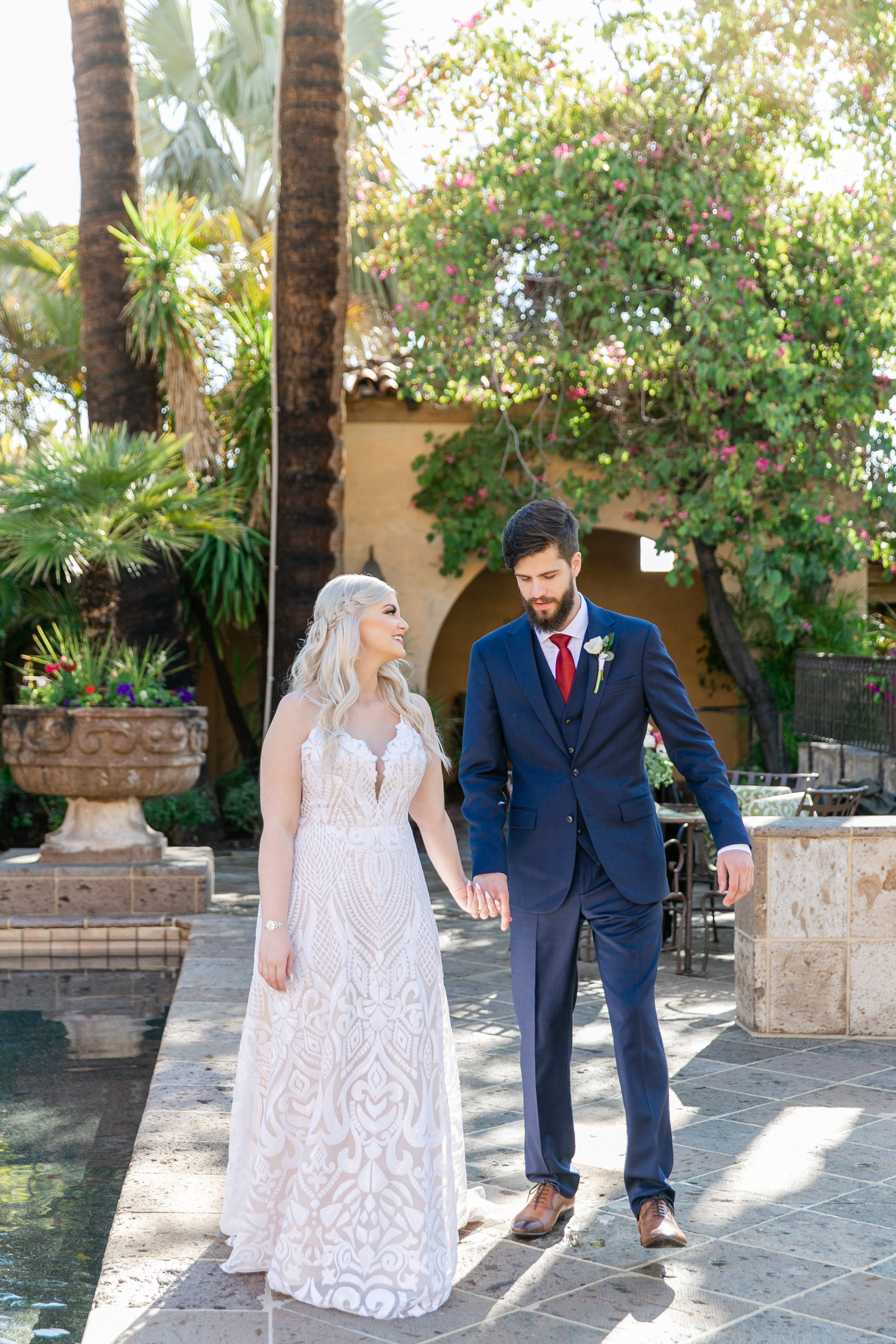 Karlie Colleen Photography - The Royal Palms Wedding - Some Like It Classic - Alex & Sam-131