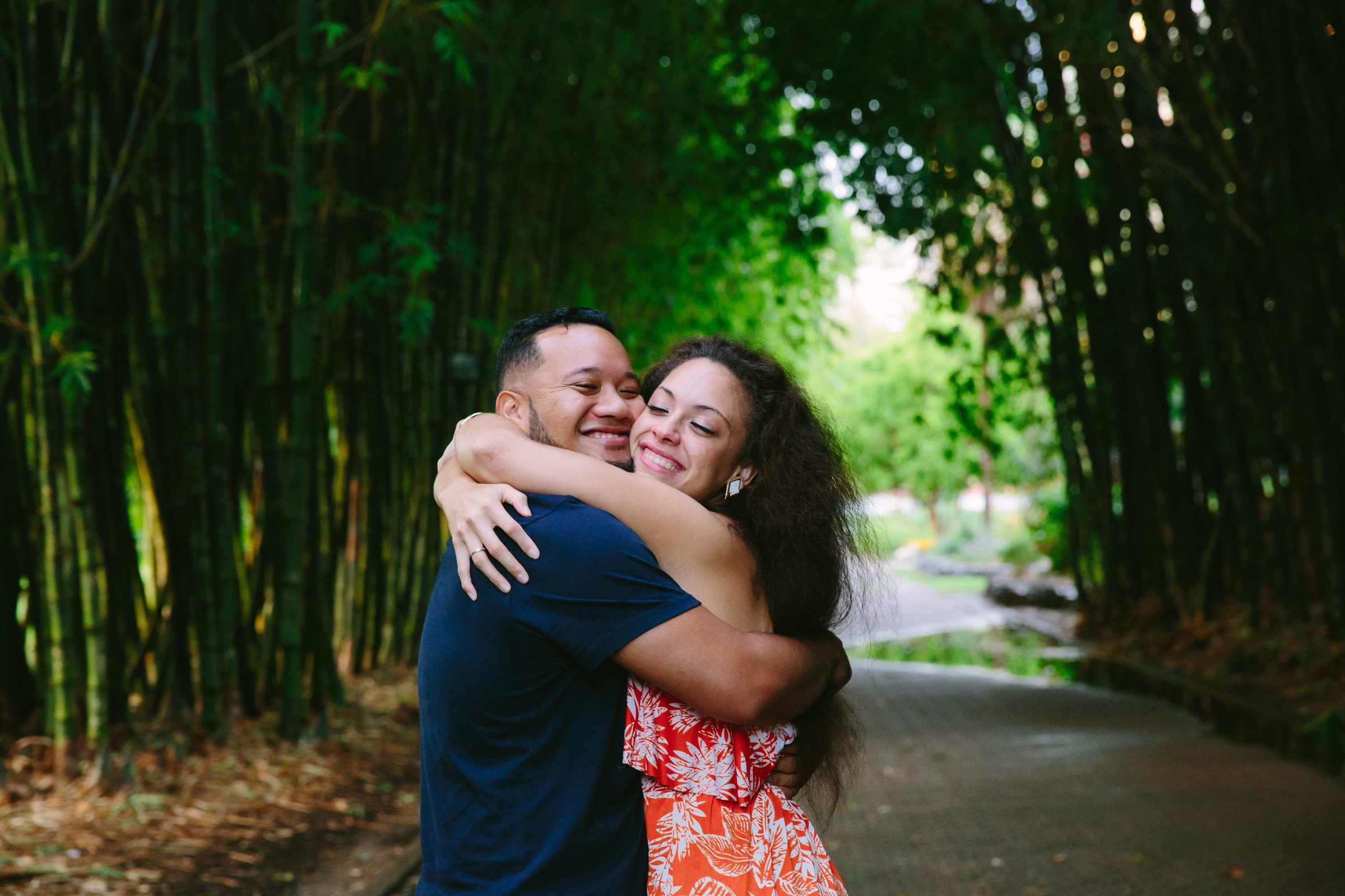Afternoon Brisbane Botanical Gardens Proposal Photographer Anna Osetroff