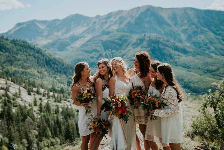 bridesmaids marble colorado, Marble Lodge on Beaver Lake Retreat Campus, white bridesmaids dresses, marble co wedding photographers, marble co weddings, all white bridesmaid dresses, white boho bridesmaids, bride tribe, salty spruce studio, mountain elopement photographers,