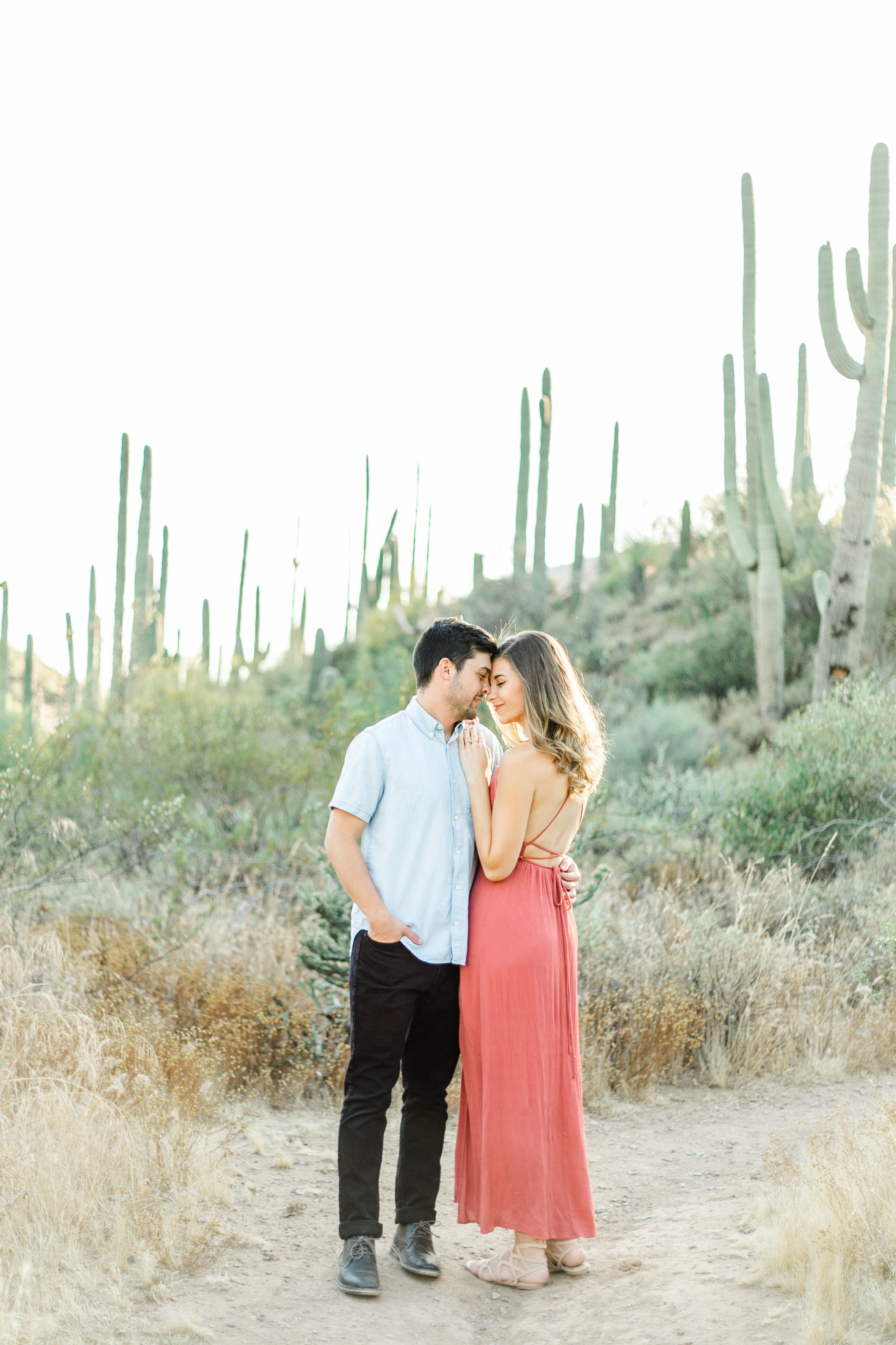 Karlie Colleen Photography - Arizona Desert Engagement - Brynne & Josh -89