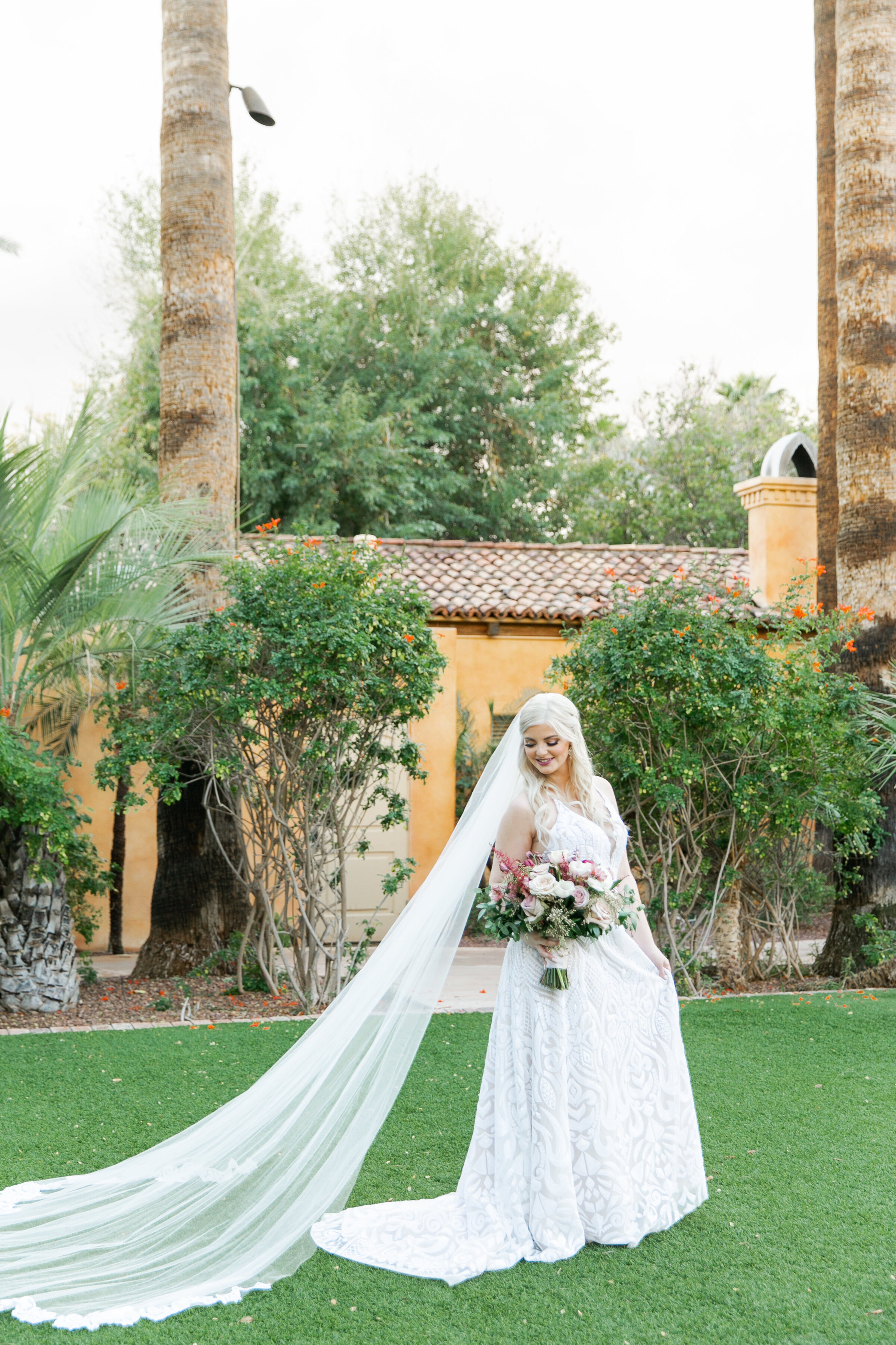 Karlie Colleen Photography - The Royal Palms Wedding - Some Like It Classic - Alex & Sam-491