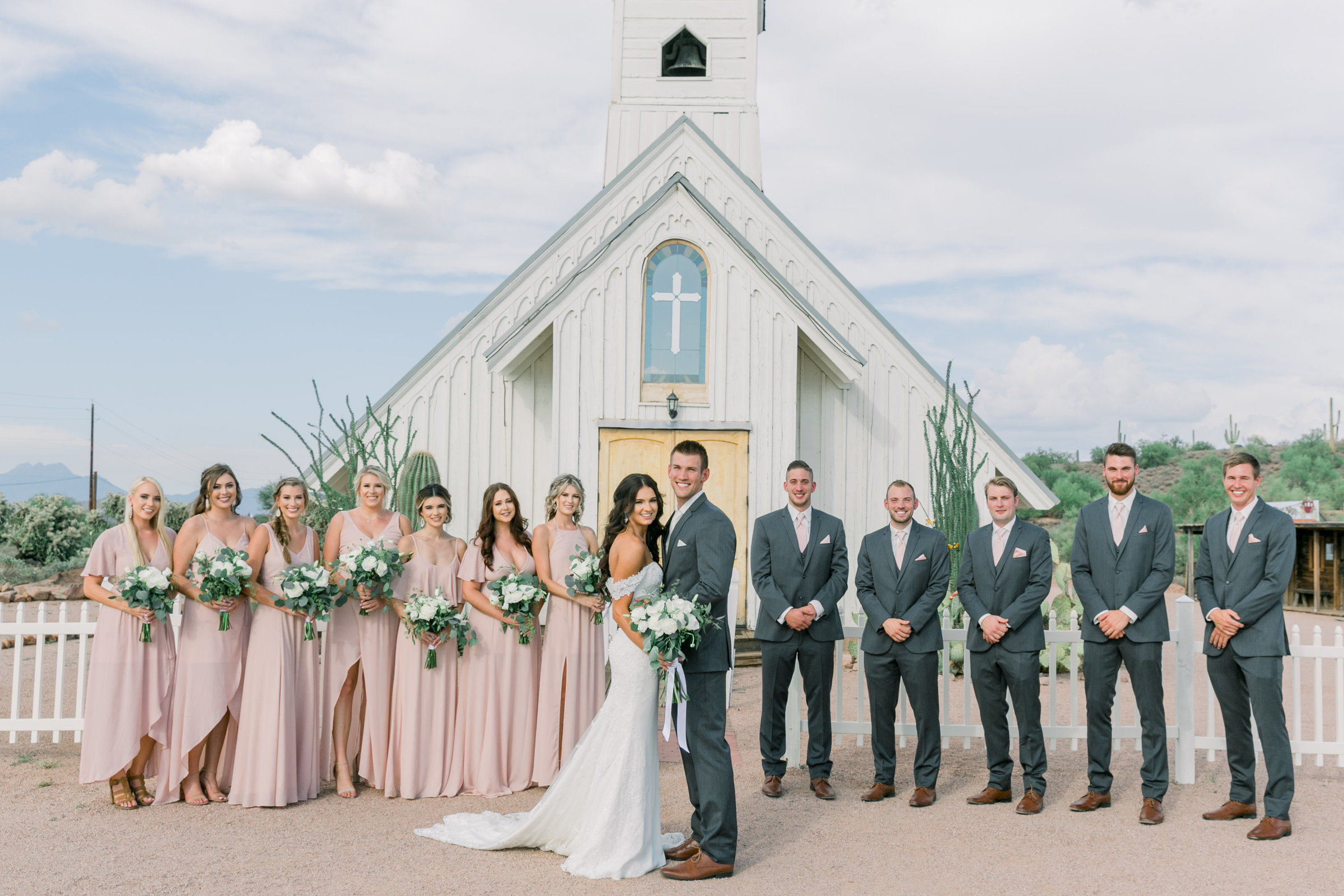 Karlie Colleen Photography - Arizona Wedding - The Paseo Venue - Jackie & Ryan -174