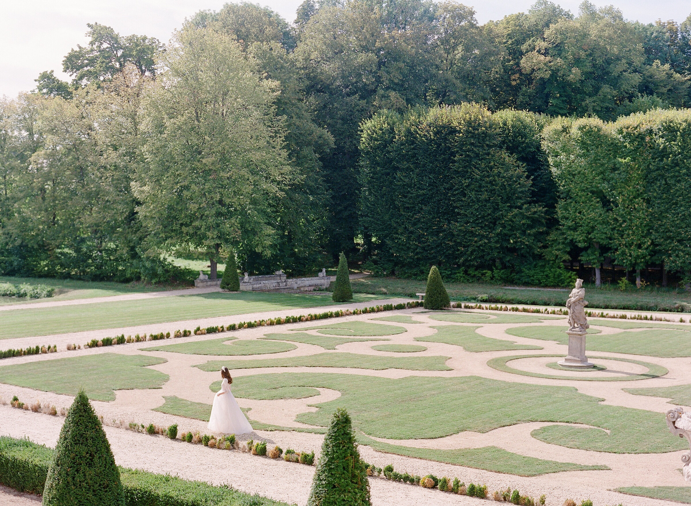 Château de Villette Gardens in France