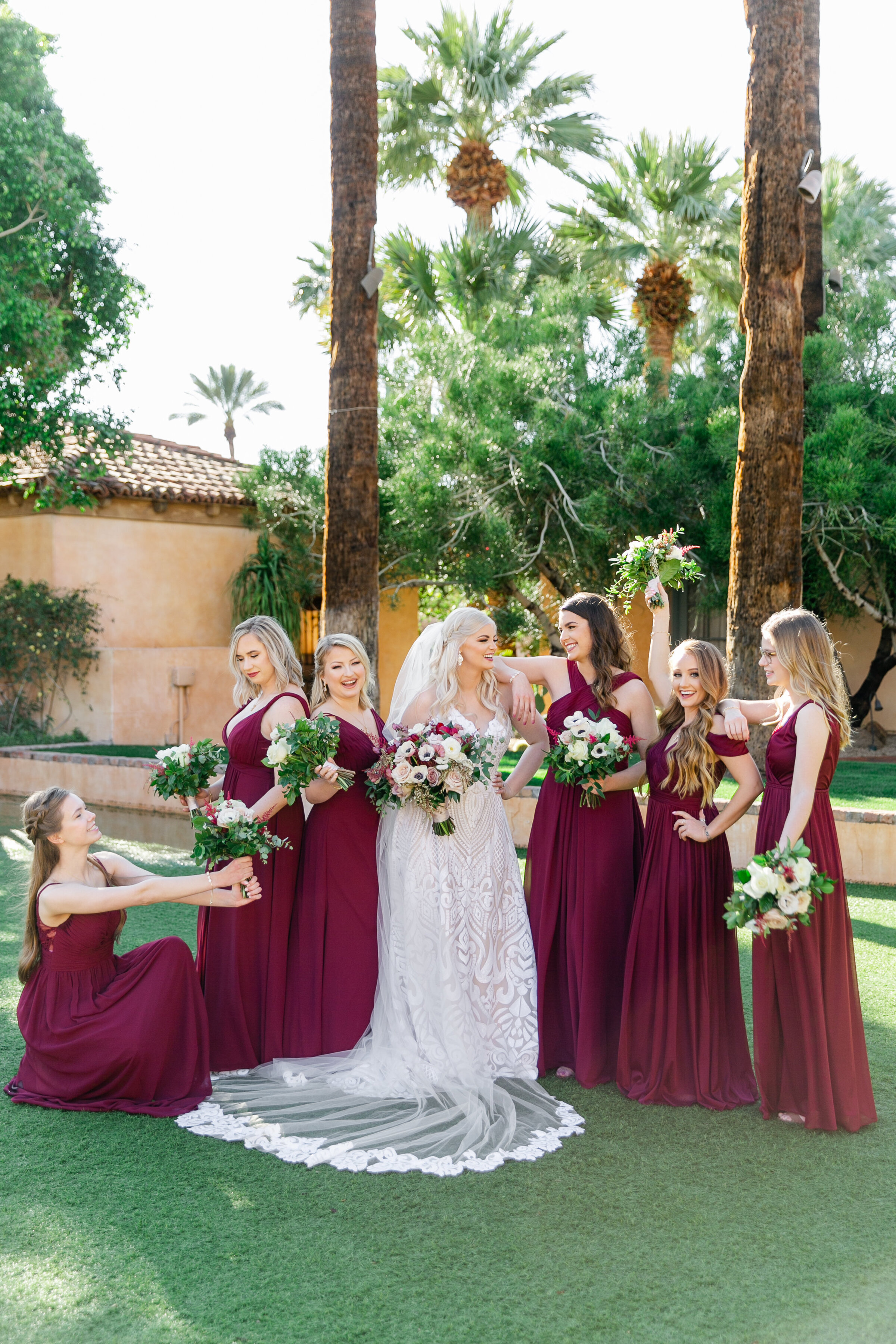 Karlie Colleen Photography - The Royal Palms Wedding - Some Like It Classic - Alex & Sam-235