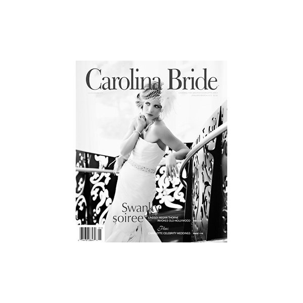 featured in carolina bride magazine 2