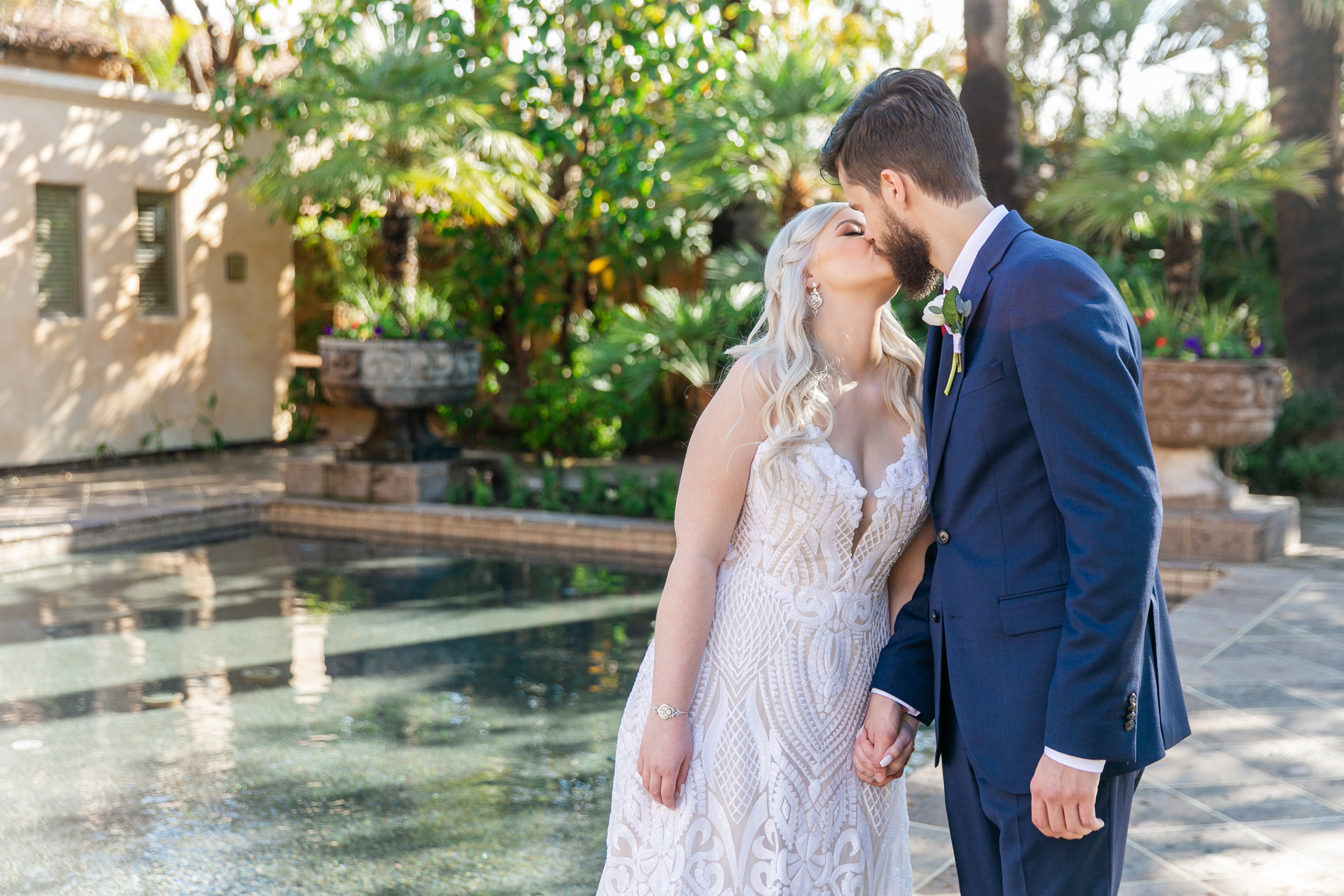 Karlie Colleen Photography - The Royal Palms Wedding - Some Like It Classic - Alex & Sam-141