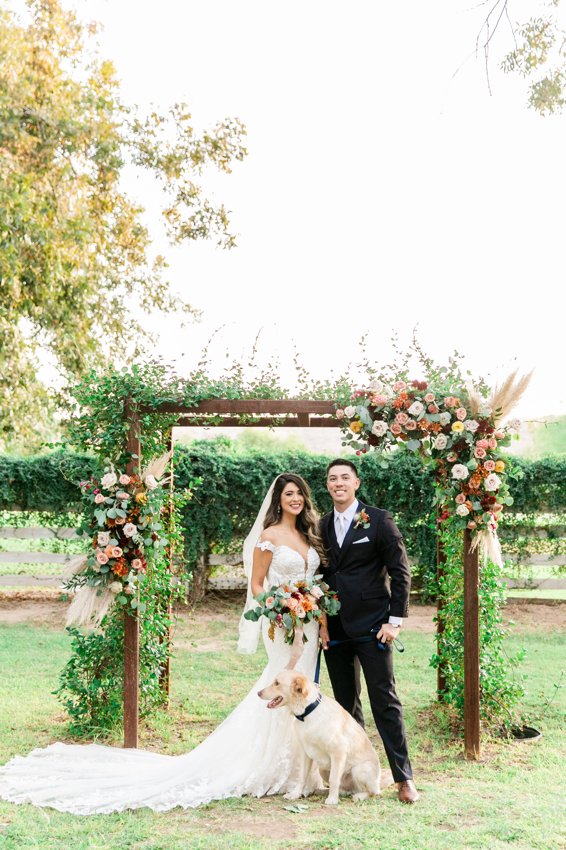 Karlie Colleen Photography - Phoenix Arizona - Farm At South Mountain Venue - Vanessa & Robert-690