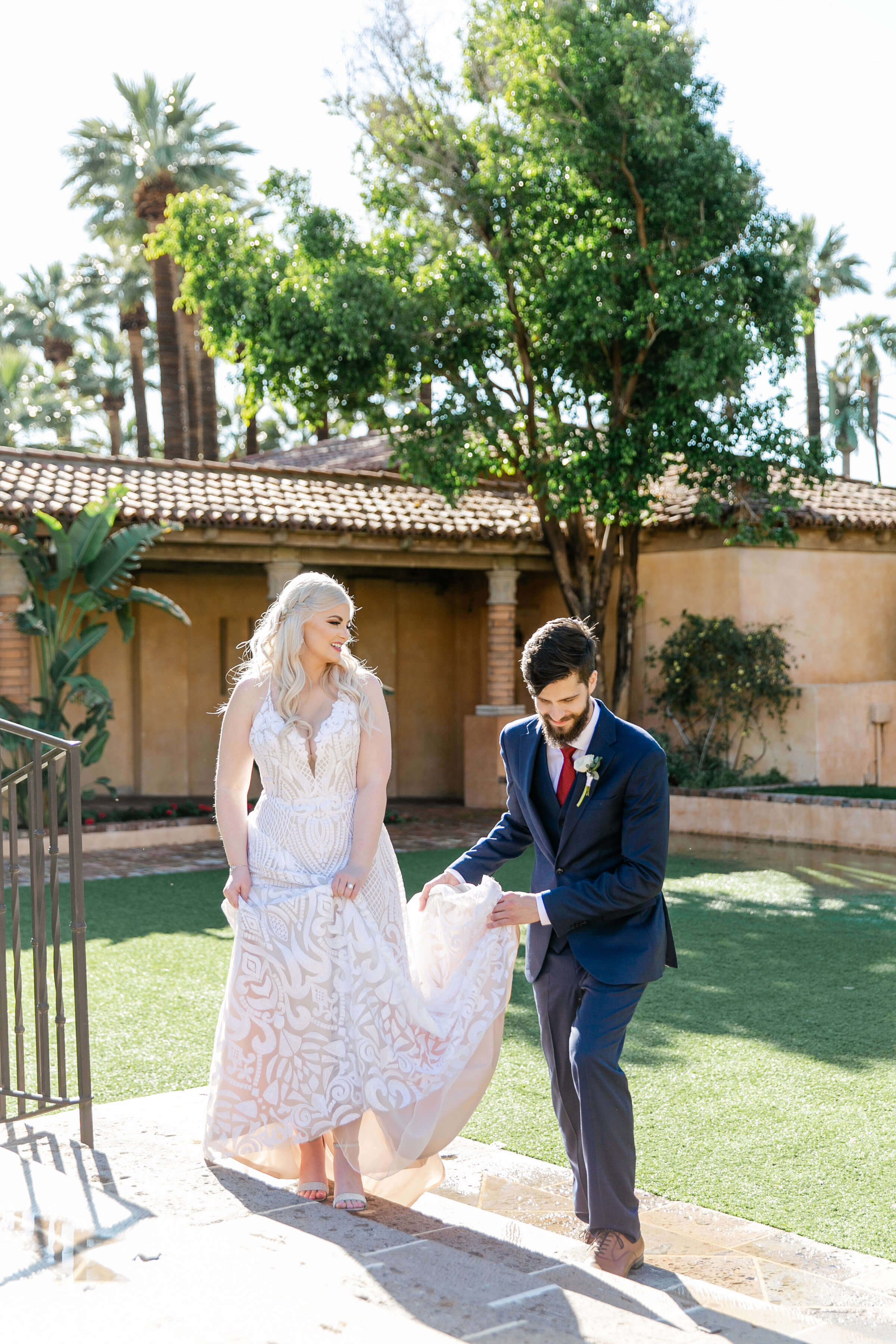 Karlie Colleen Photography - The Royal Palms Wedding - Some Like It Classic - Alex & Sam-173