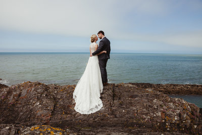 Wedding Pembrokeshire, Wedding Wales, beach wedding