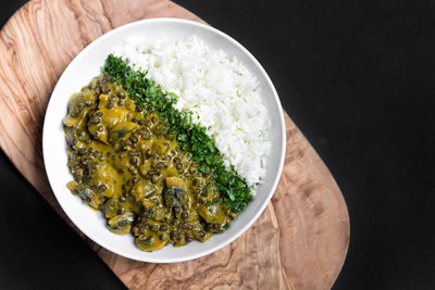 how to cook green coconut curry in an electric pressure cooker