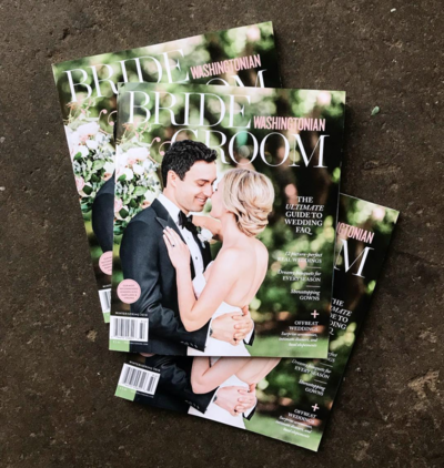 Washingtonian Bride and Groom Winter:Spring 2018 COVER