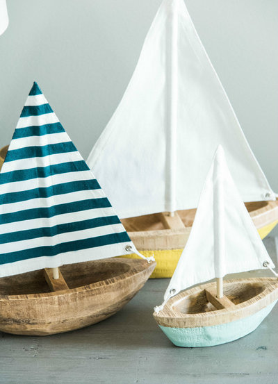 Marie always has sailboats in her office to keep consultations light and airy