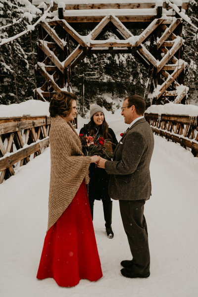 Mount Rainer Adventure Wedding Planner Officiant