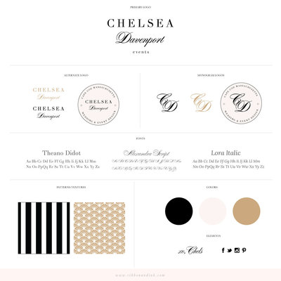 premade-branding-for-creatives-photographers-creative-at-heart-pink-black-modern-showit-website-ChelseaDavenport_BrandBoard_v01